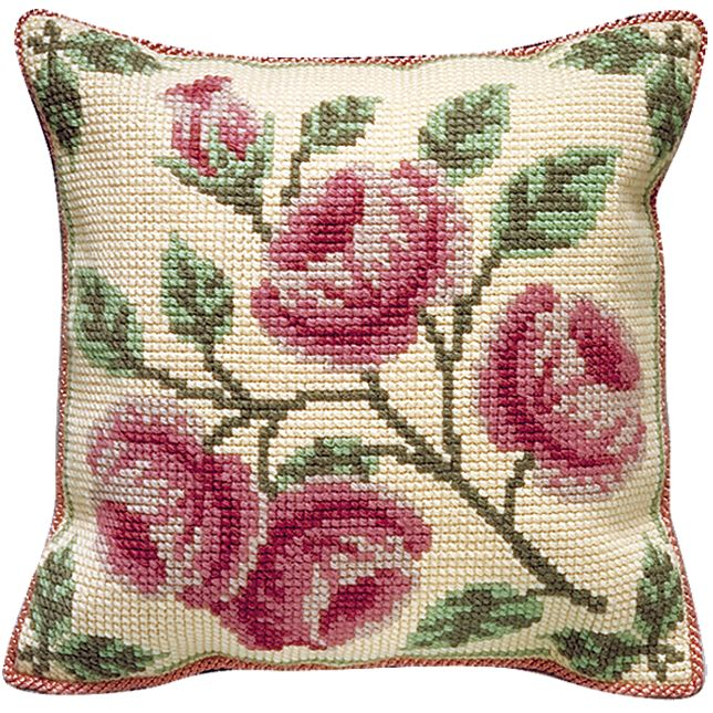 Brigantia Needlework Edensor Cushion Tapestry Kit
