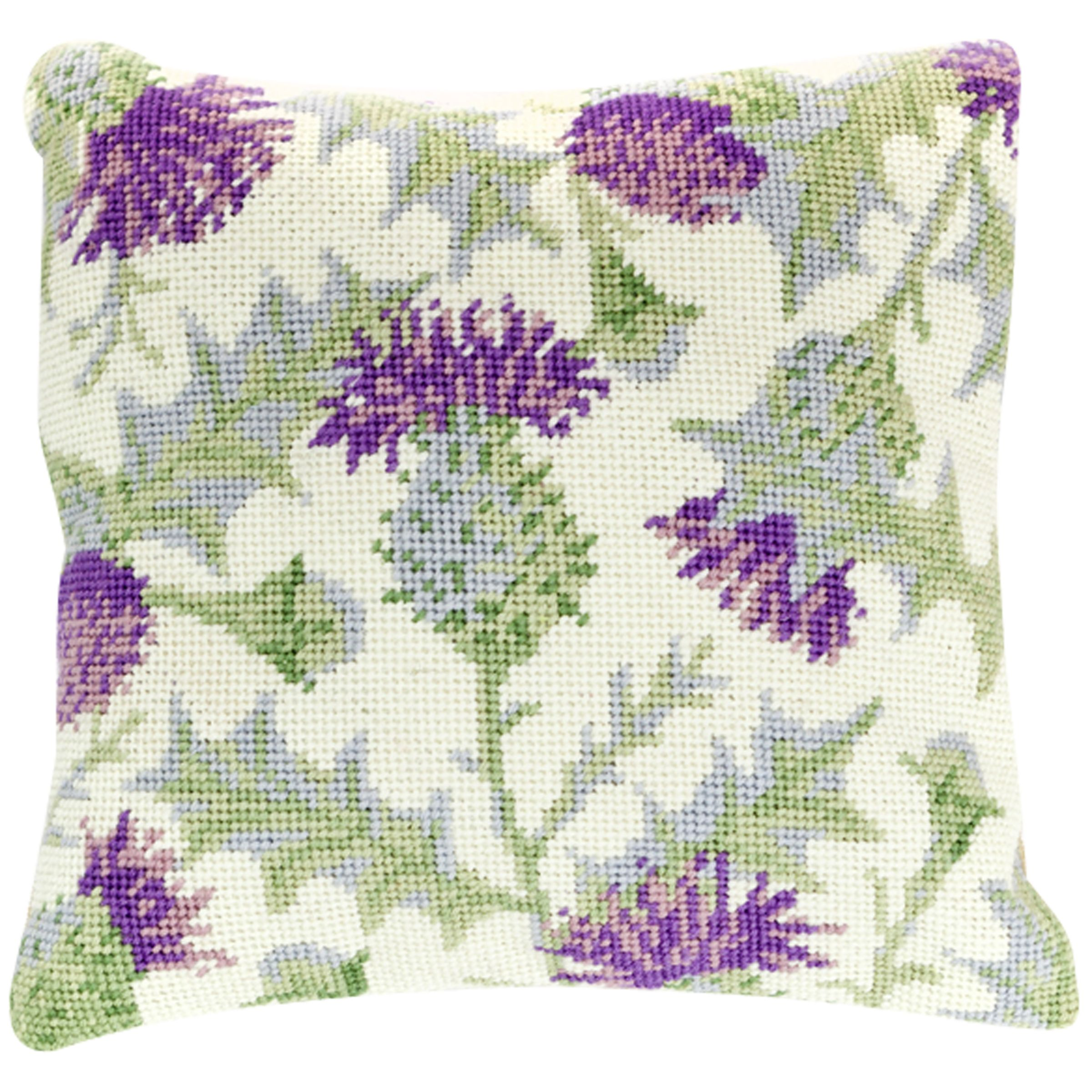 Cleopatra's Needle Thistle Pillow Tapestry Kit