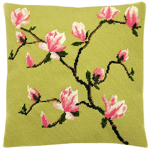 Cleopatra's Needle Spring Blossom Pillow Tapestry Kit