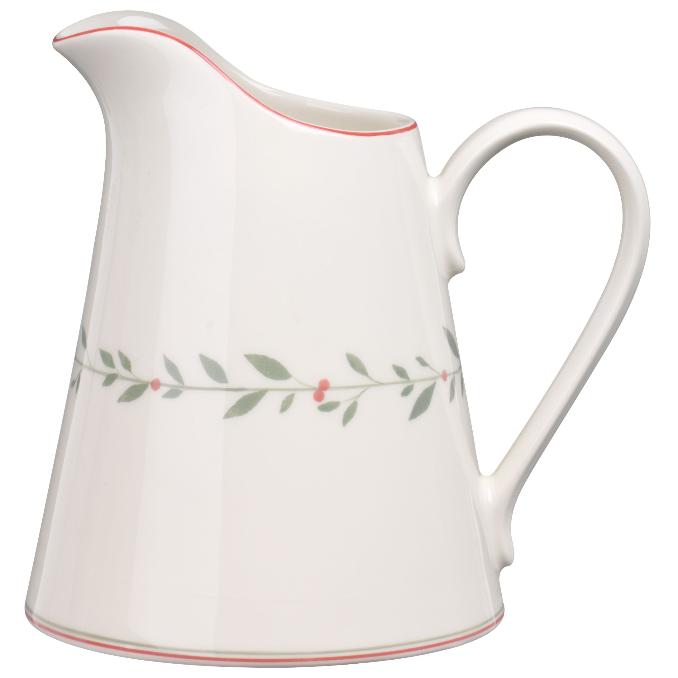 John Lewis Robin & Laurel Christmas Jug, Medium. 0.5L