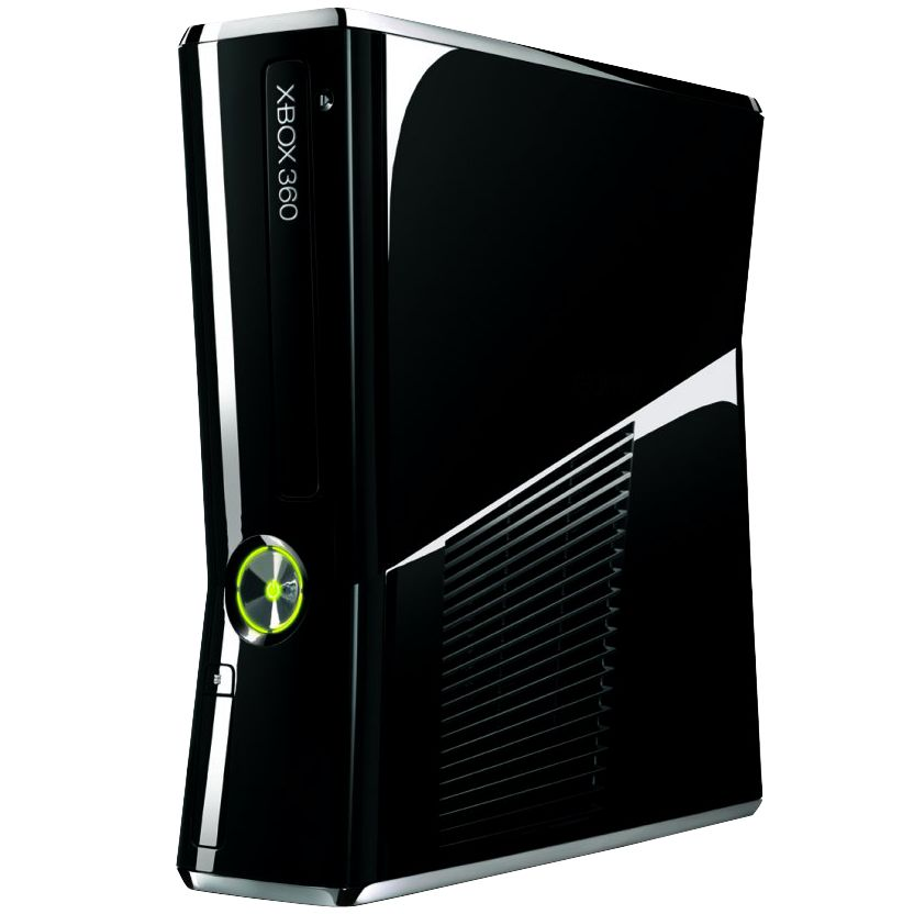 Microsoft Xbox 360 S 250GB Console with Kinect Controller, Sports & Dance Games at John Lewis