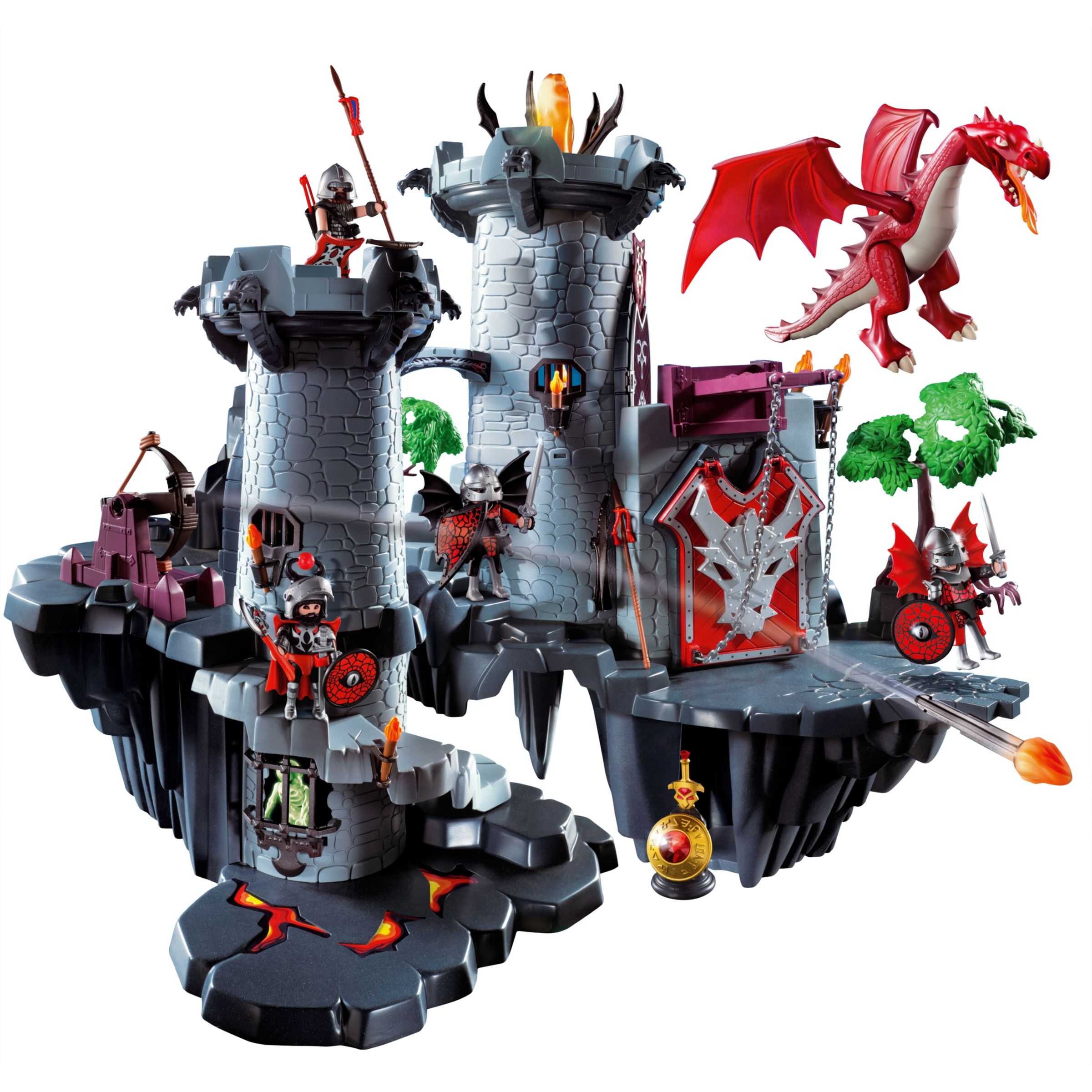 Playmobil Dragon Land: Great Dragon Castle