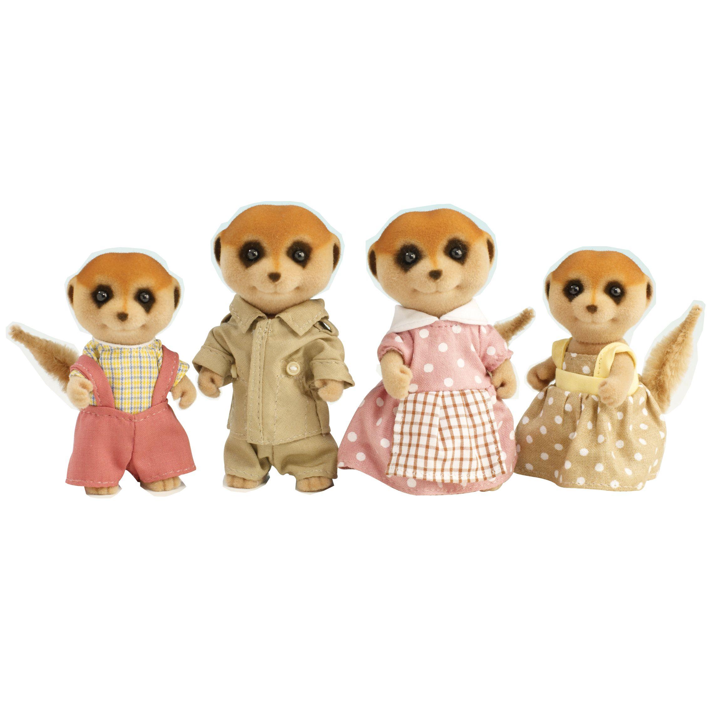 Sylvanian Families Spotter Meerkat Family
