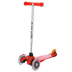 Mini Micro T-Bar Scooter, Red