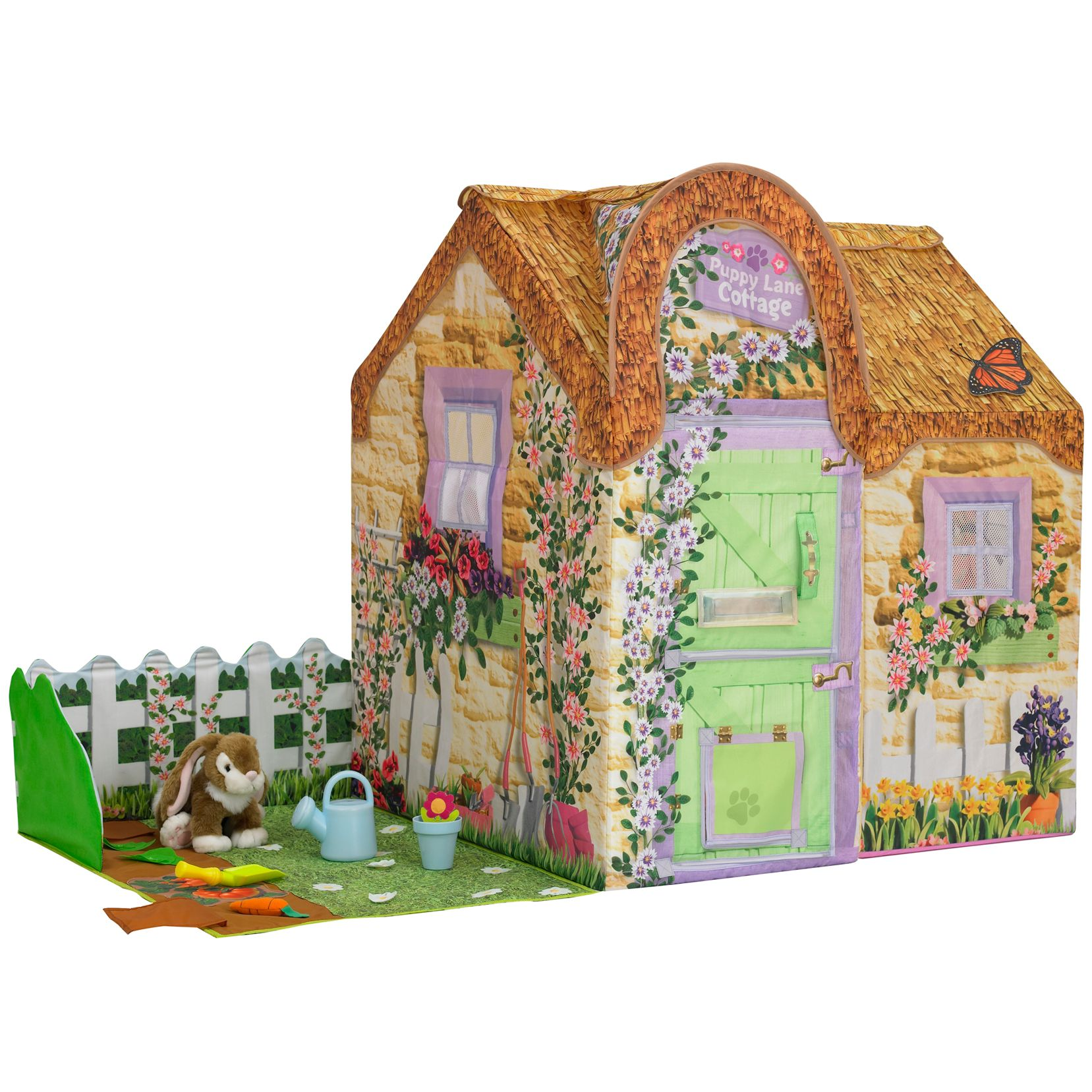 Dream Town Garden Set & Rabbit
