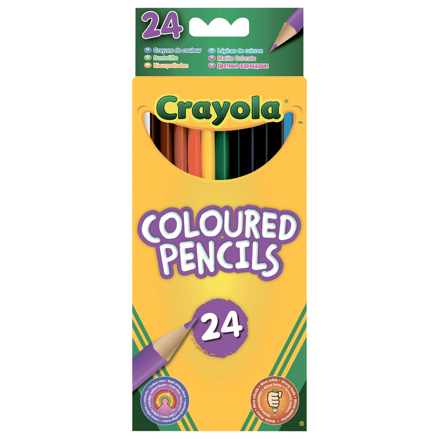 Crayola Colouring Pencils, Pack of 24