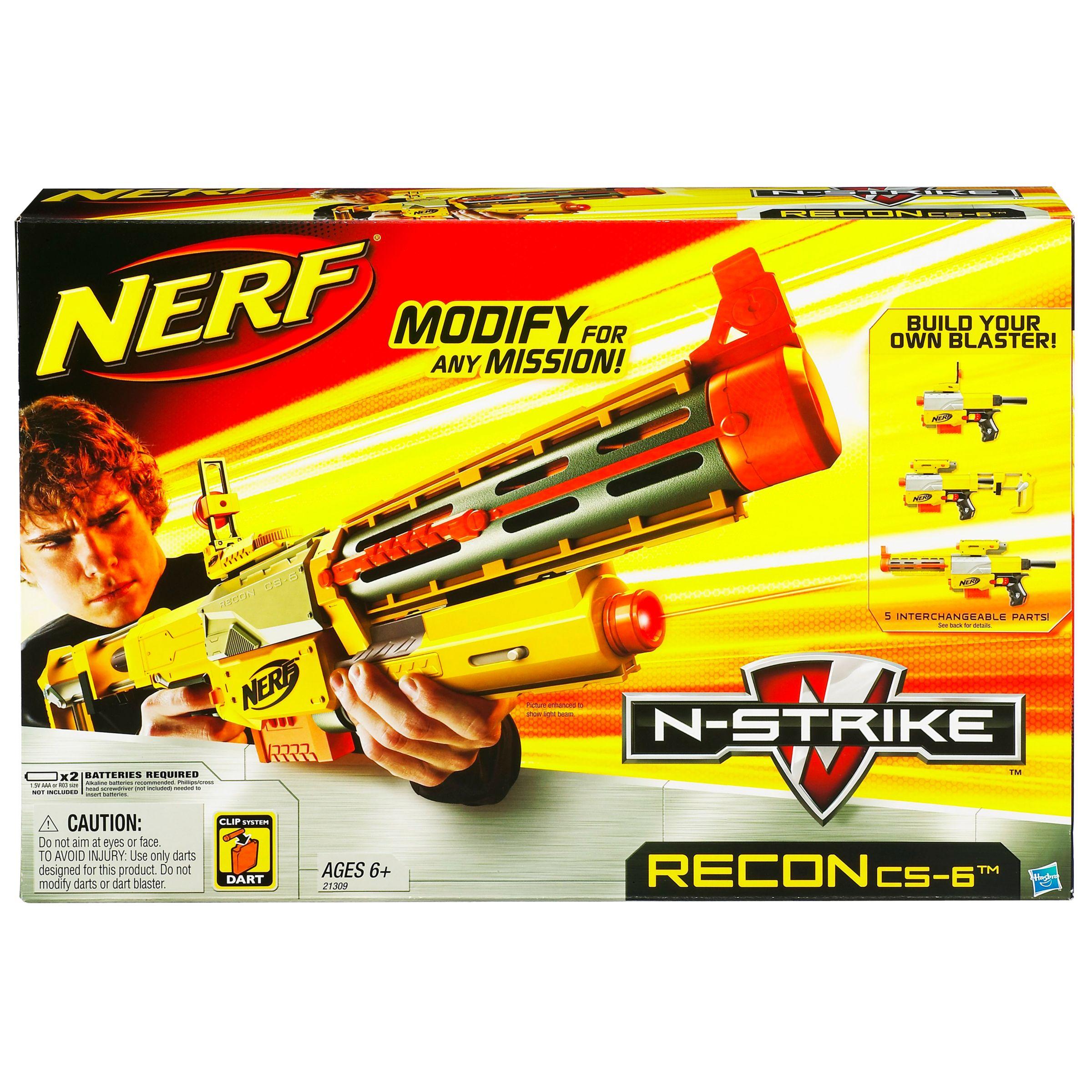 Hasbro Nerf N-Recon CS-6