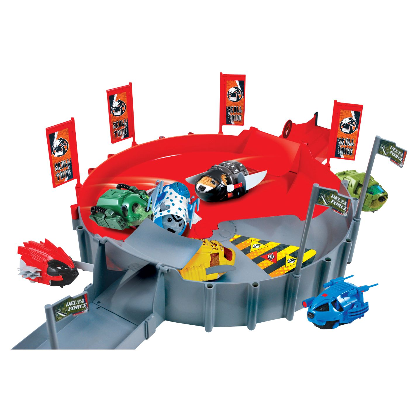 Kung Zhu Hamsters: Battle Arena Playset