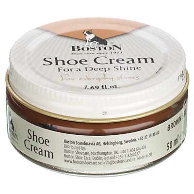 Shoe Cream, Medium Brown, 50ml