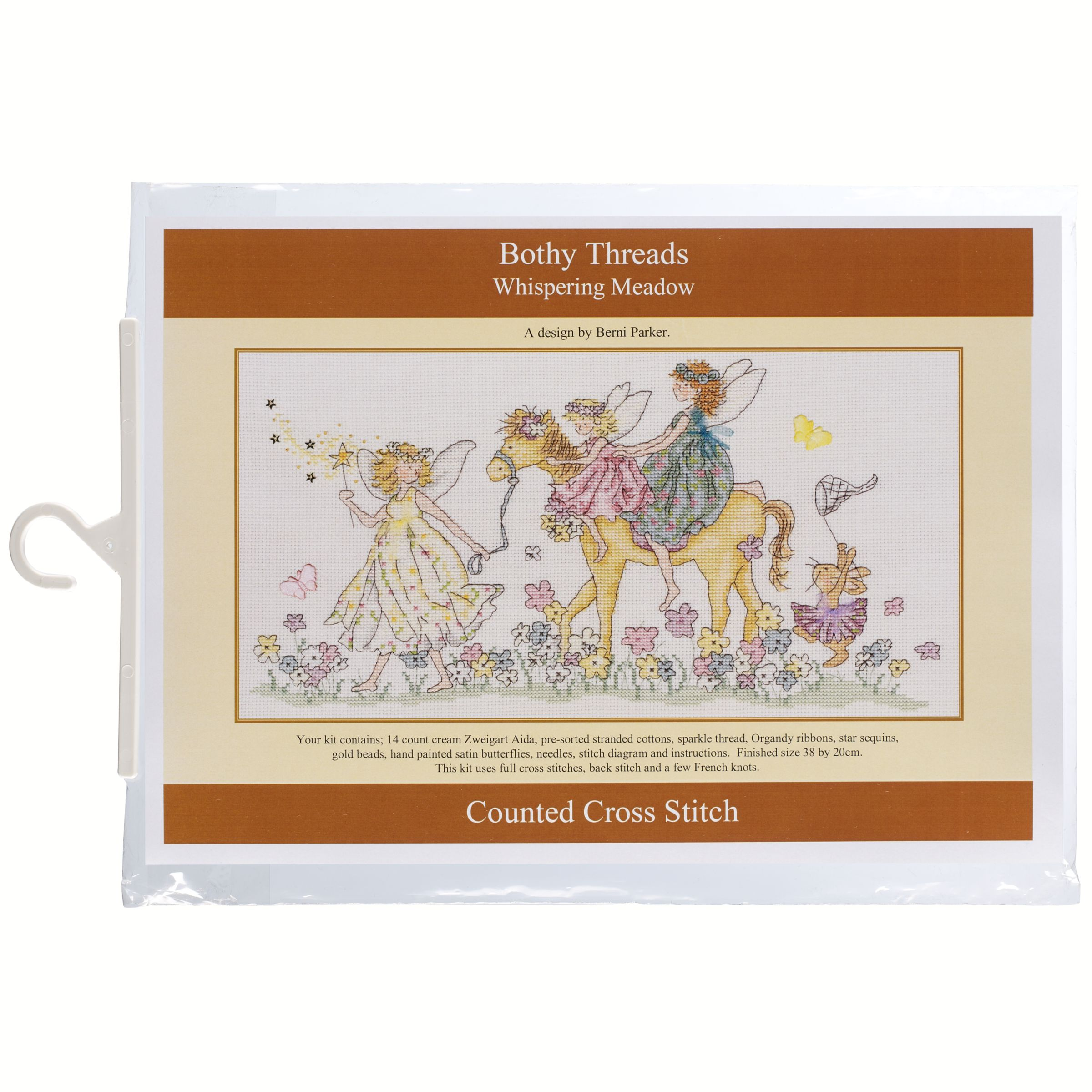 Bothy Threads The Whispering Meadow Cross Stitch Kit