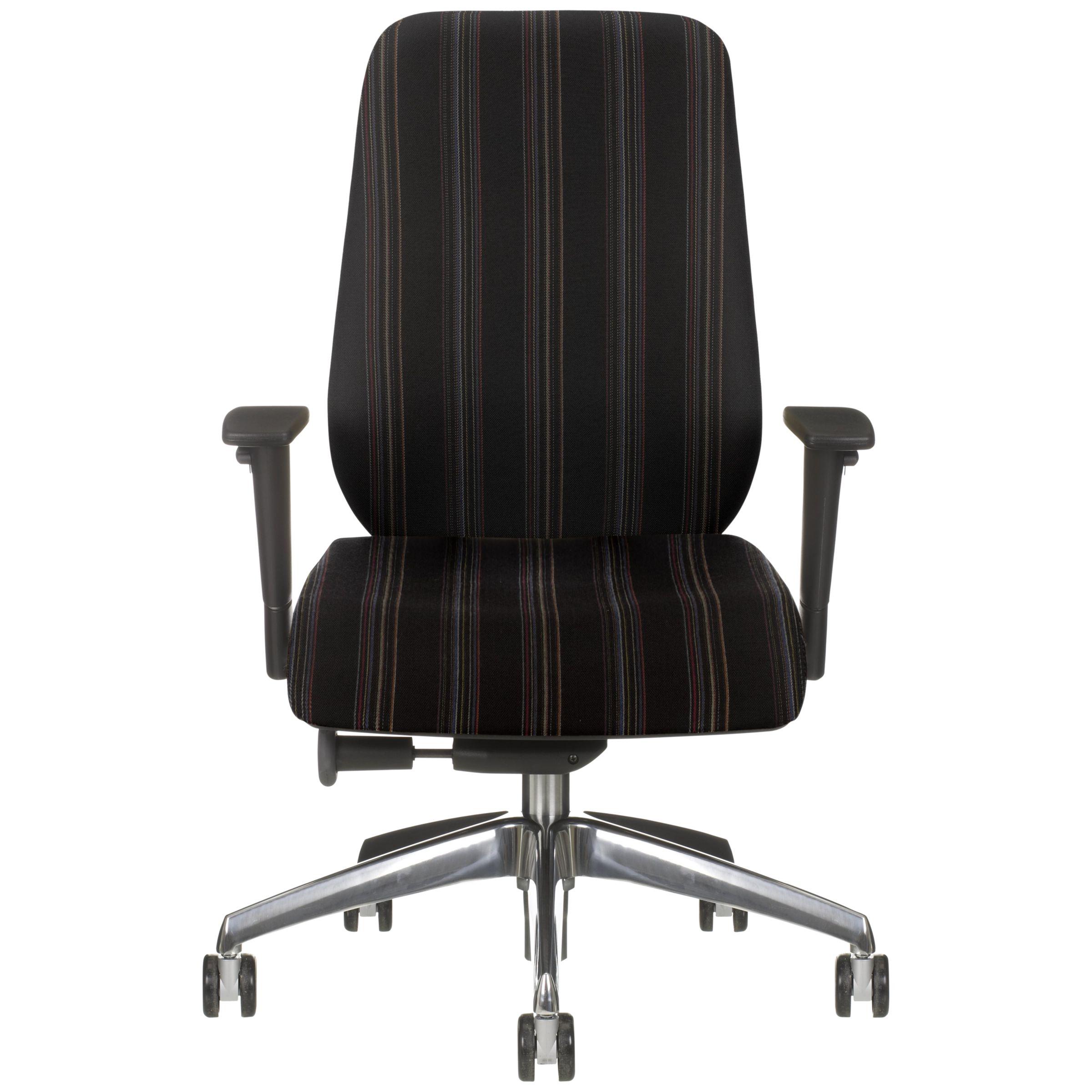 Boss Design Key Office Chair, Black Herringbone