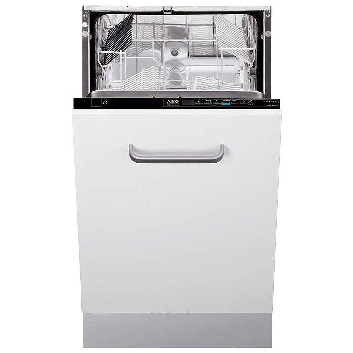 AEG F85480VI Slimline Integrated Dishwasher at John Lewis