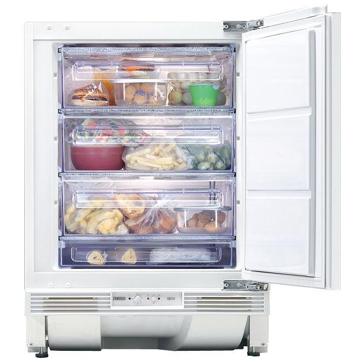 Zanussi ZQF6114A Integrated Freezer, White at John Lewis