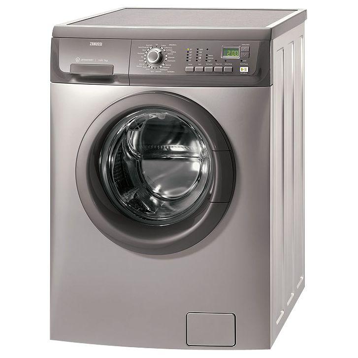 Zanussi ZWF16581G Washing Machine, Graphite at JohnLewis