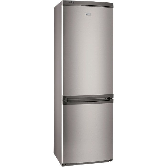 Zanussi ZRB634FX Fridge Freezer, Stainless Steel Look at John Lewis