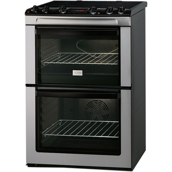 Zanussi ZCV662MXC Electric Cooker, Stainless Steel at John Lewis