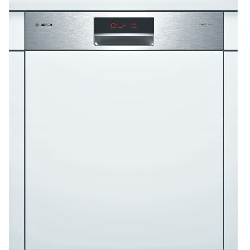 Bosch SMI69T05GB Semi-Integrated Dishwasher, Stainless Steel at John Lewis