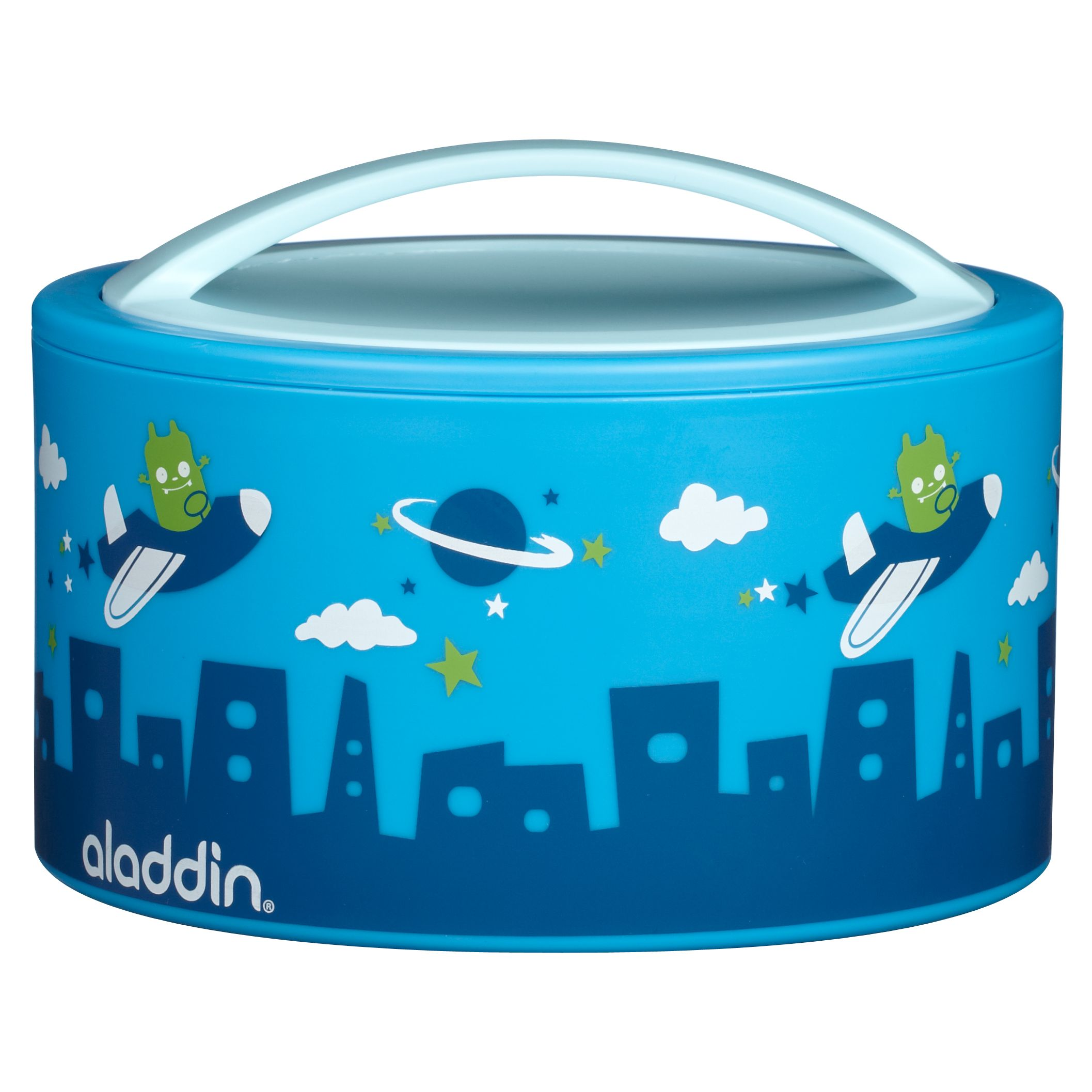 Aladdin Bento Kids Lunch Box, Blue