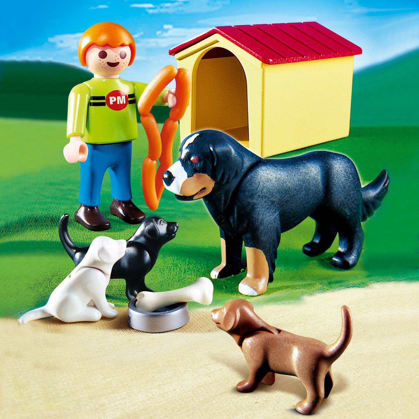 Playmobil Dog & Puppies