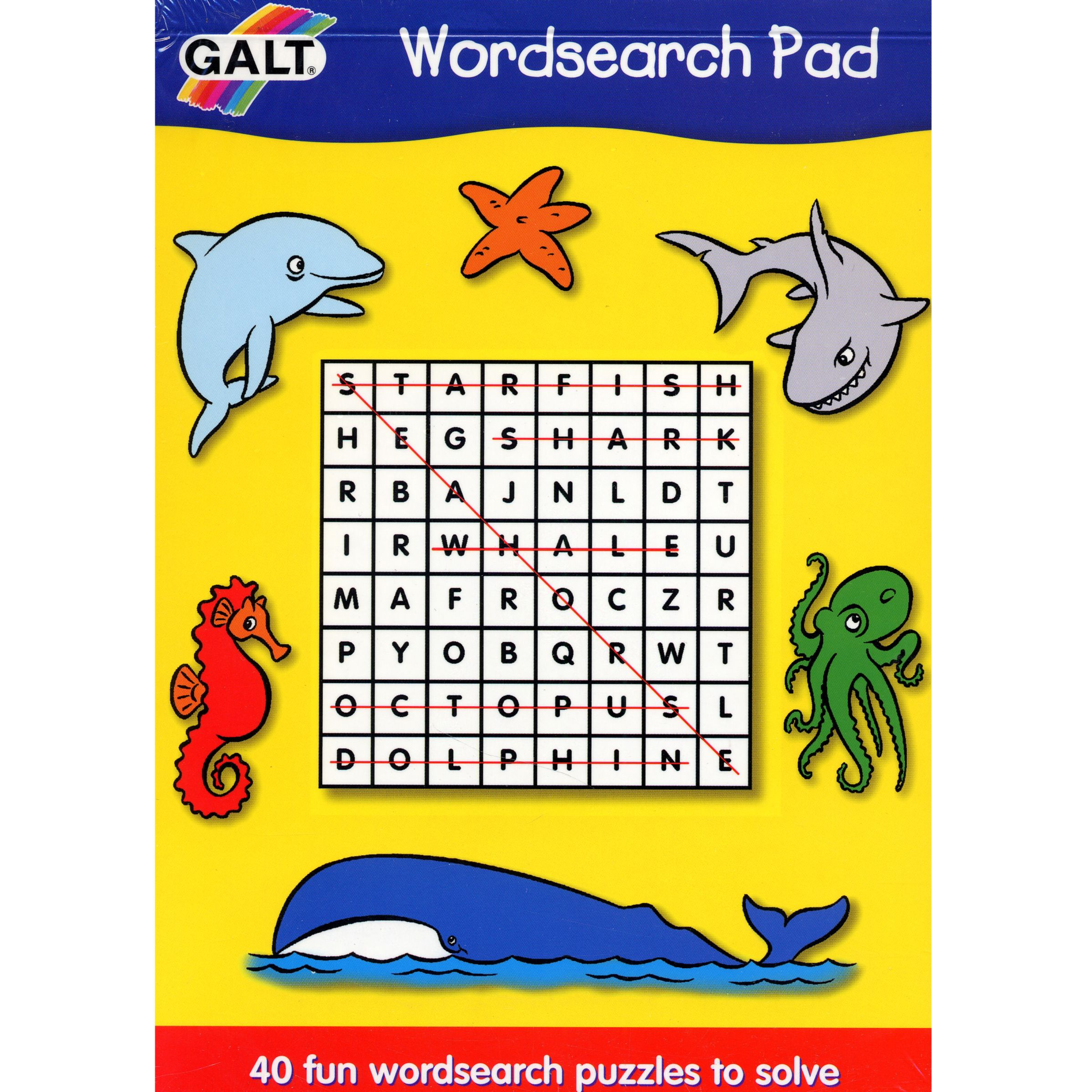 Galt Word Search Pad