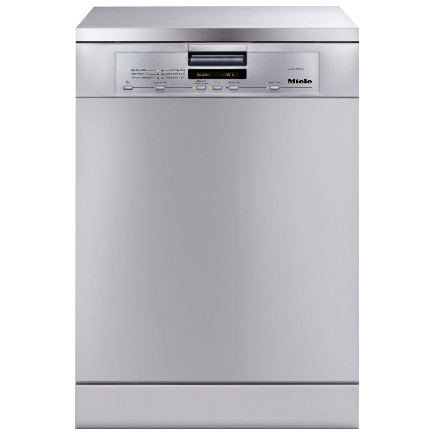 Miele G5500SCclst Dishwasher, Stainless Steel at John Lewis