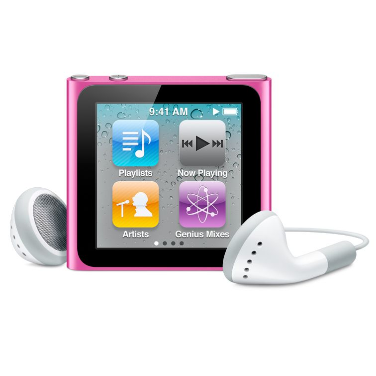 New Apple iPod nano, 8GB, Pink £129.00. The new iPod nano with Multi-Touch