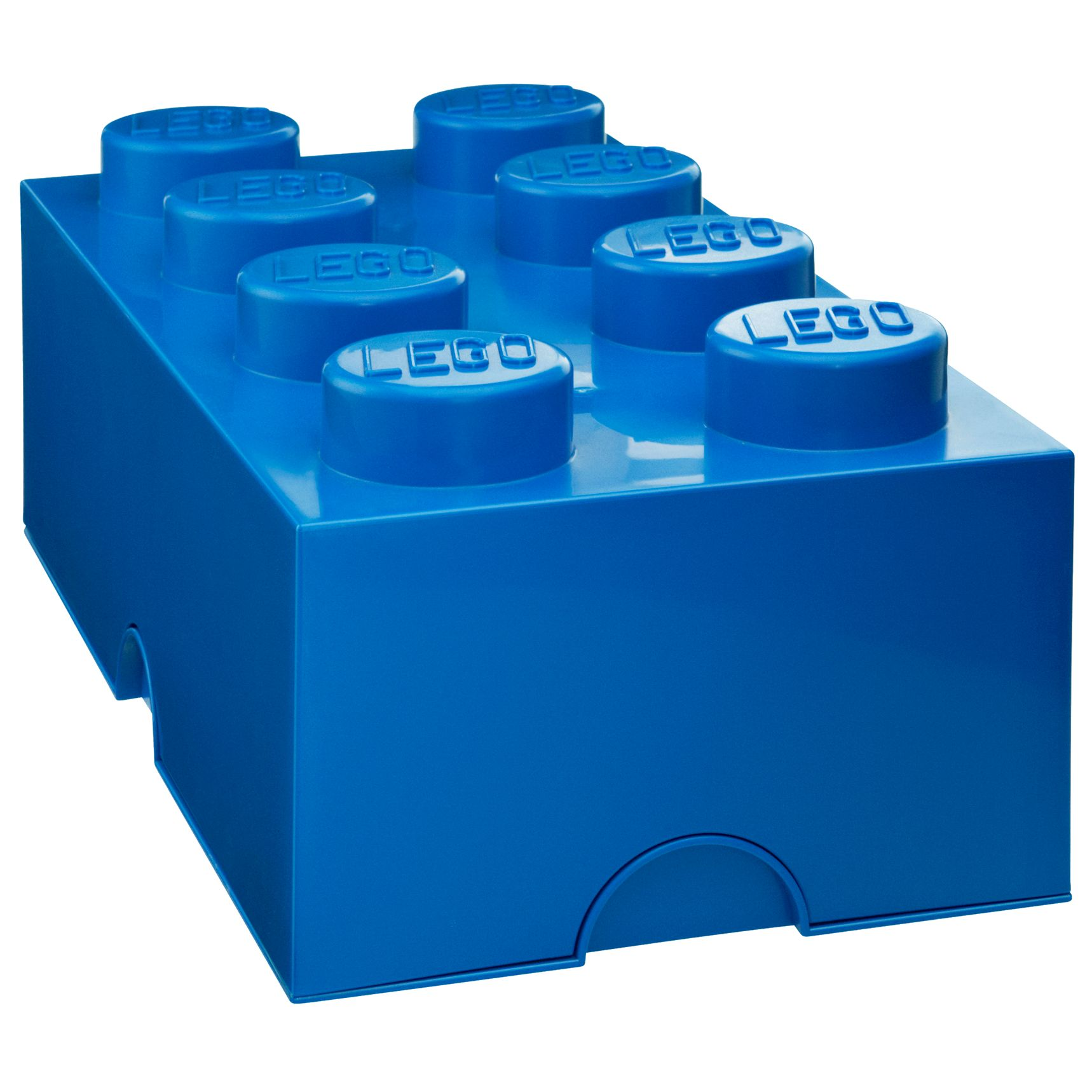 Lego 8 Stud Storage Brick, Blue
