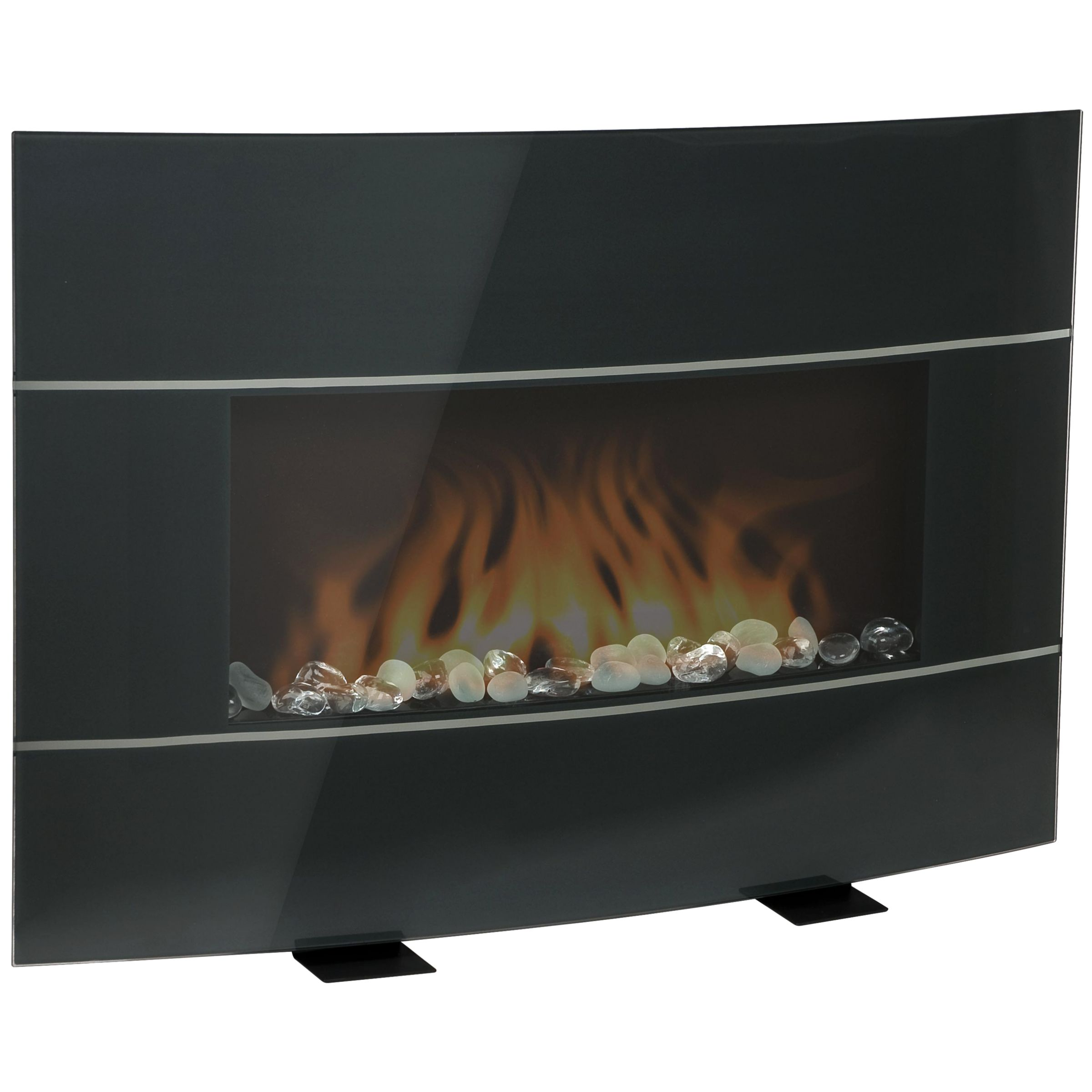 BEF6500-IUK Electric Fireplace, Black