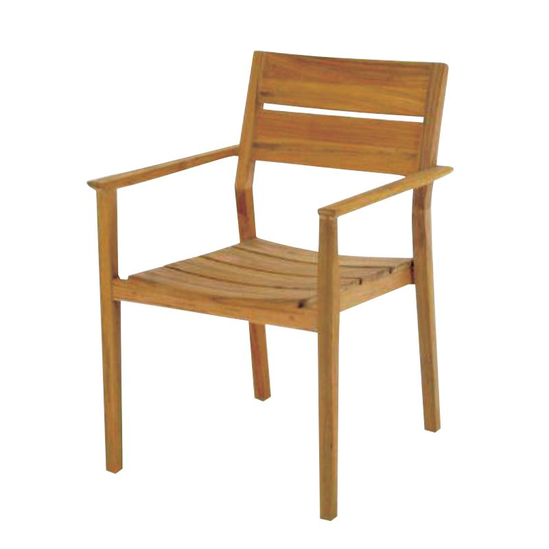 Gloster Rye Dining Chair with Arms