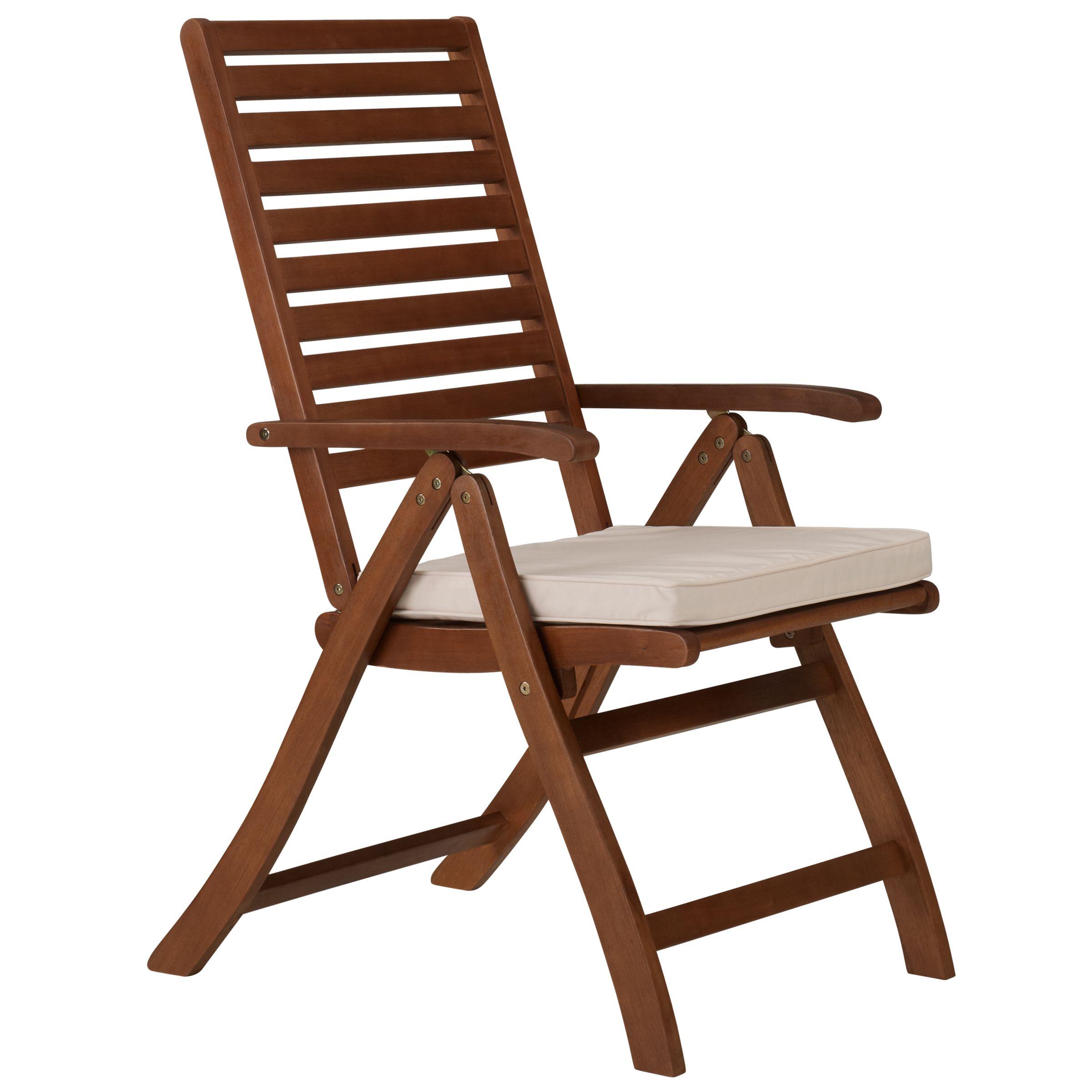 John Lewis Napoli Folding Outdoor Armchair