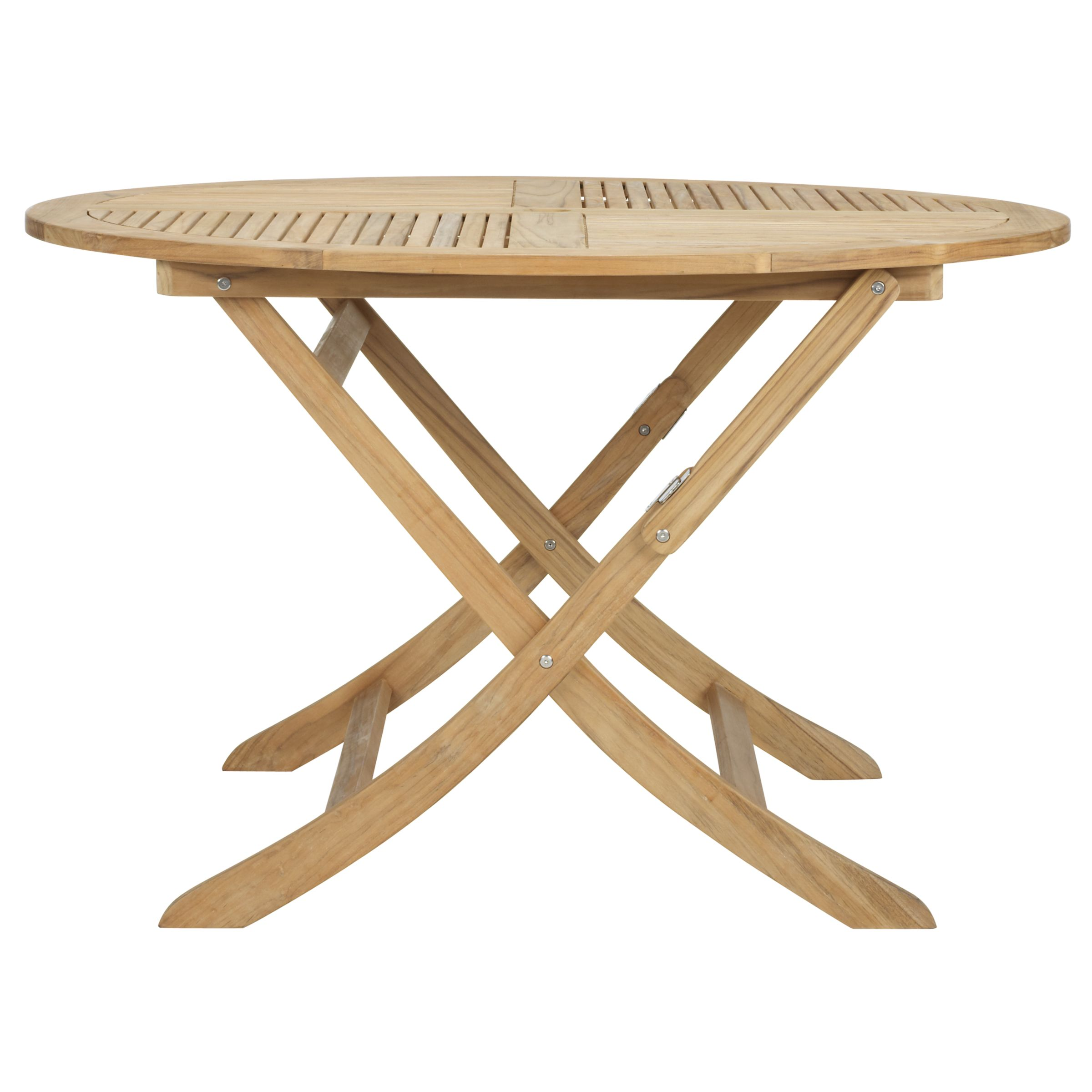 John Lewis Cortona Round Folding Outdoor Table