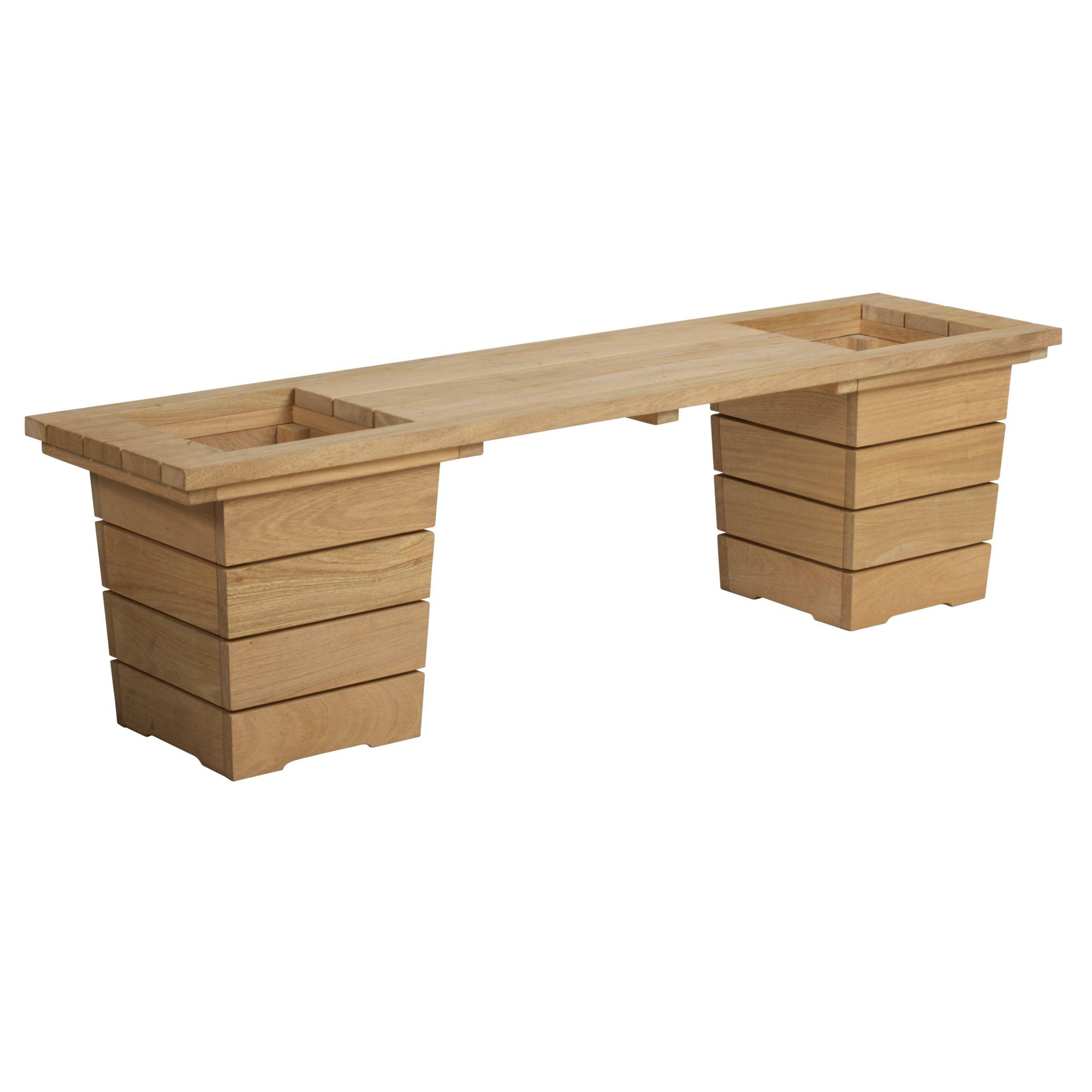 John Lewis Double Planter Bench
