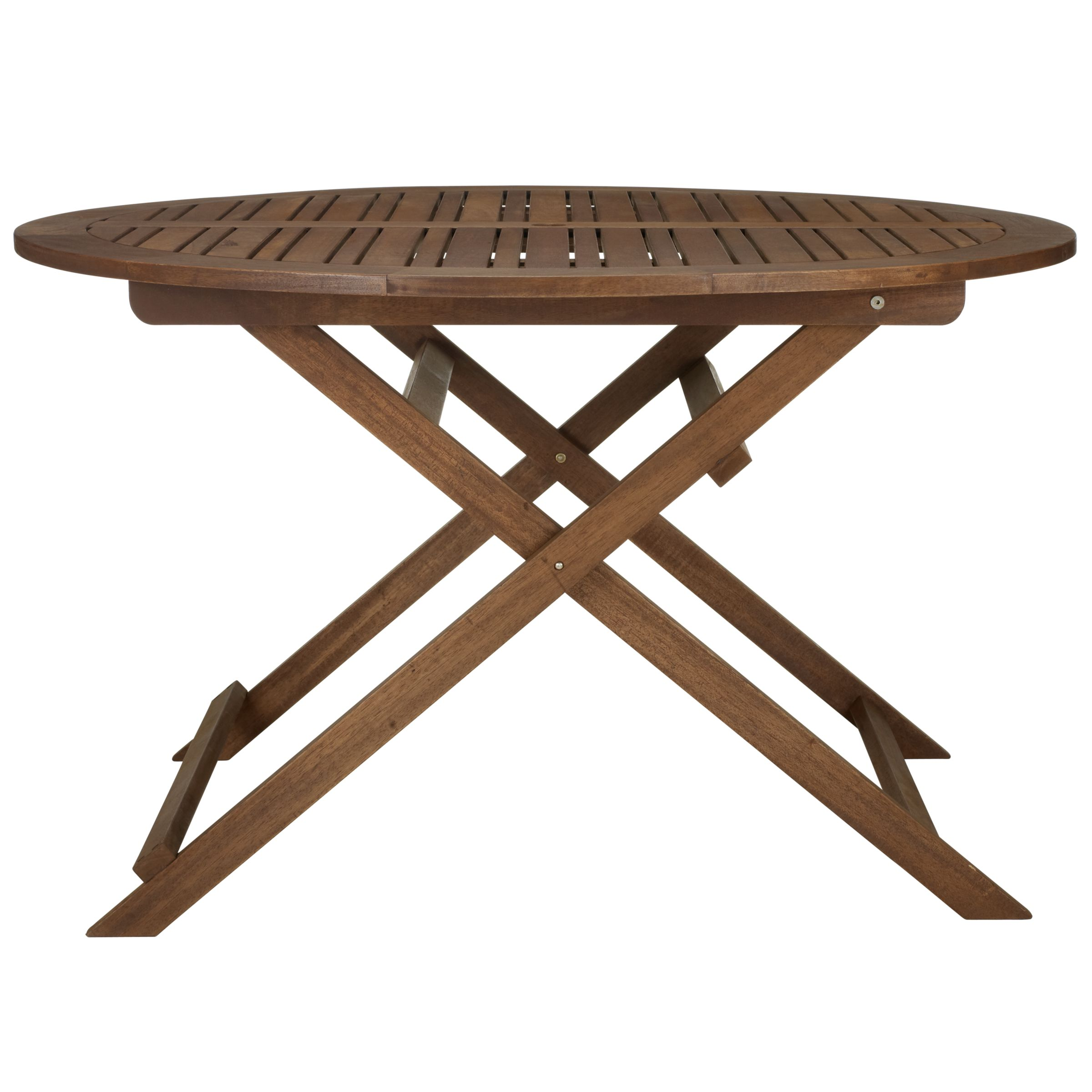 John Lewis Capri Round Folding Outdoor Dining Table