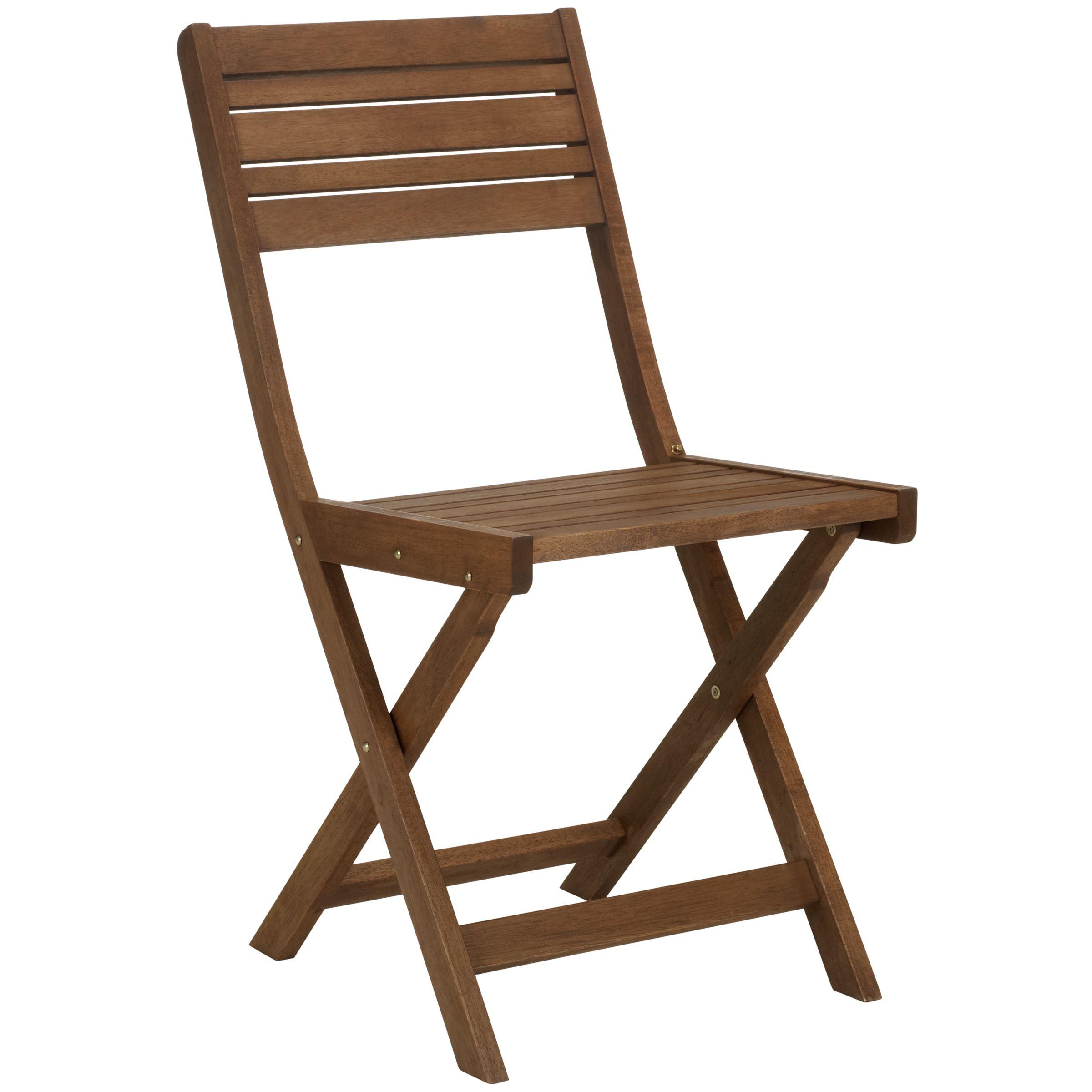 John Lewis Capri Folding Side Chair