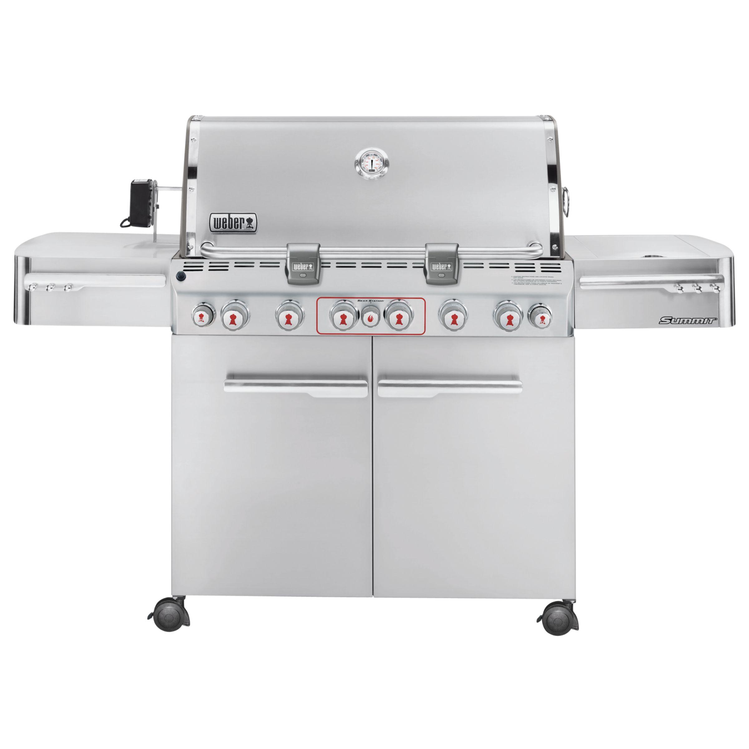 Weber S670 Gas Barbecue