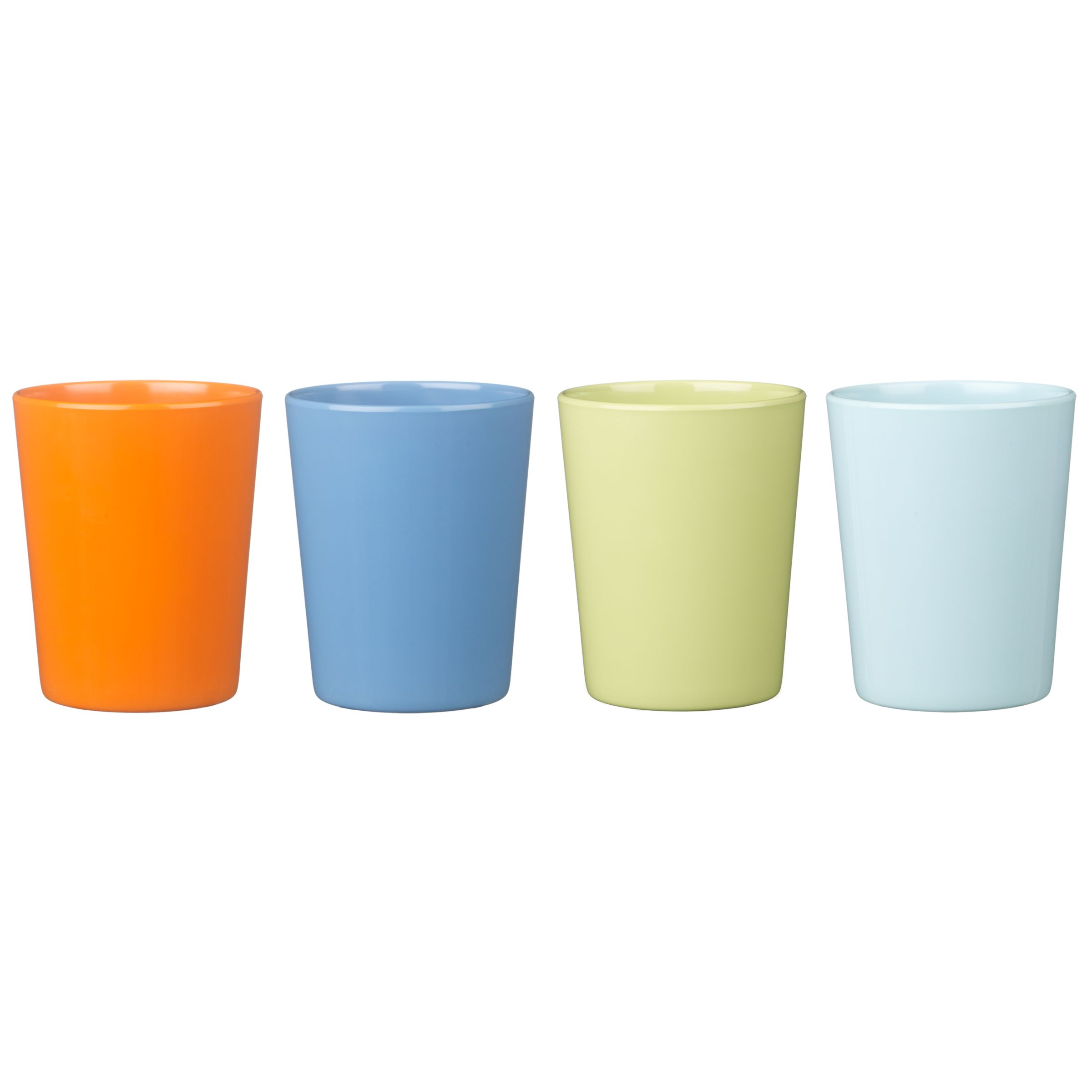 little home at John Lewis, Robots and Rivets, Bright Beakers, Set of 4