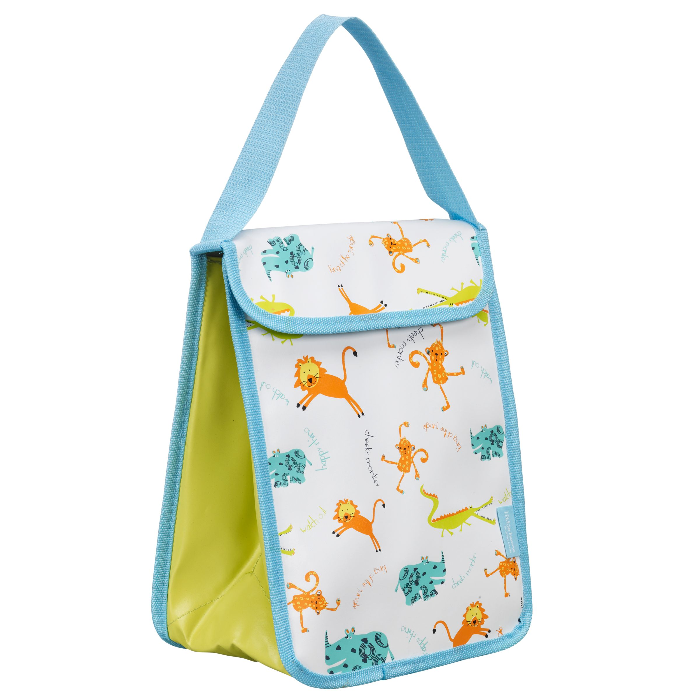 little home at John Lewis, Animals, Insulated Lunch Bag