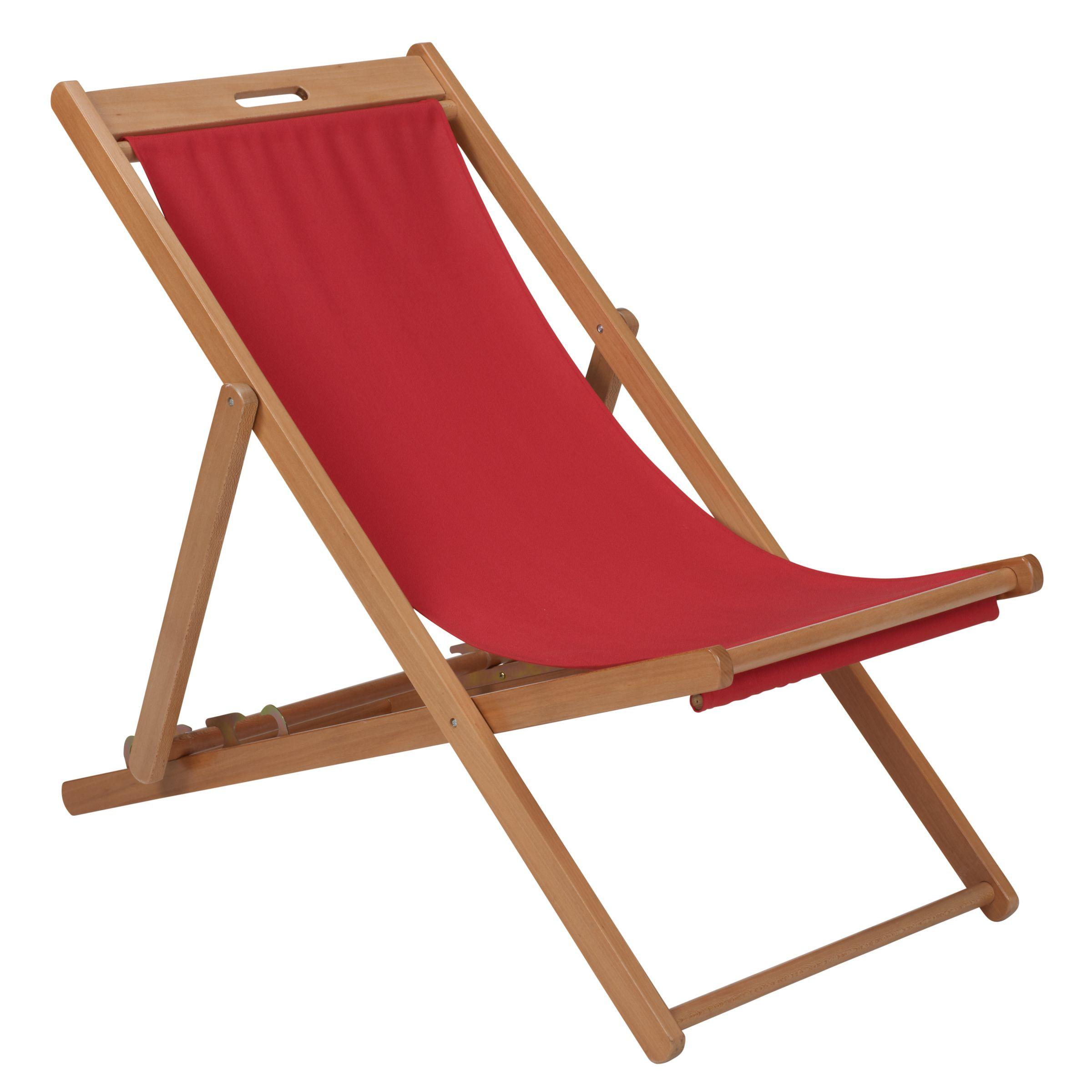 John Lewis Deckchair, Chilli