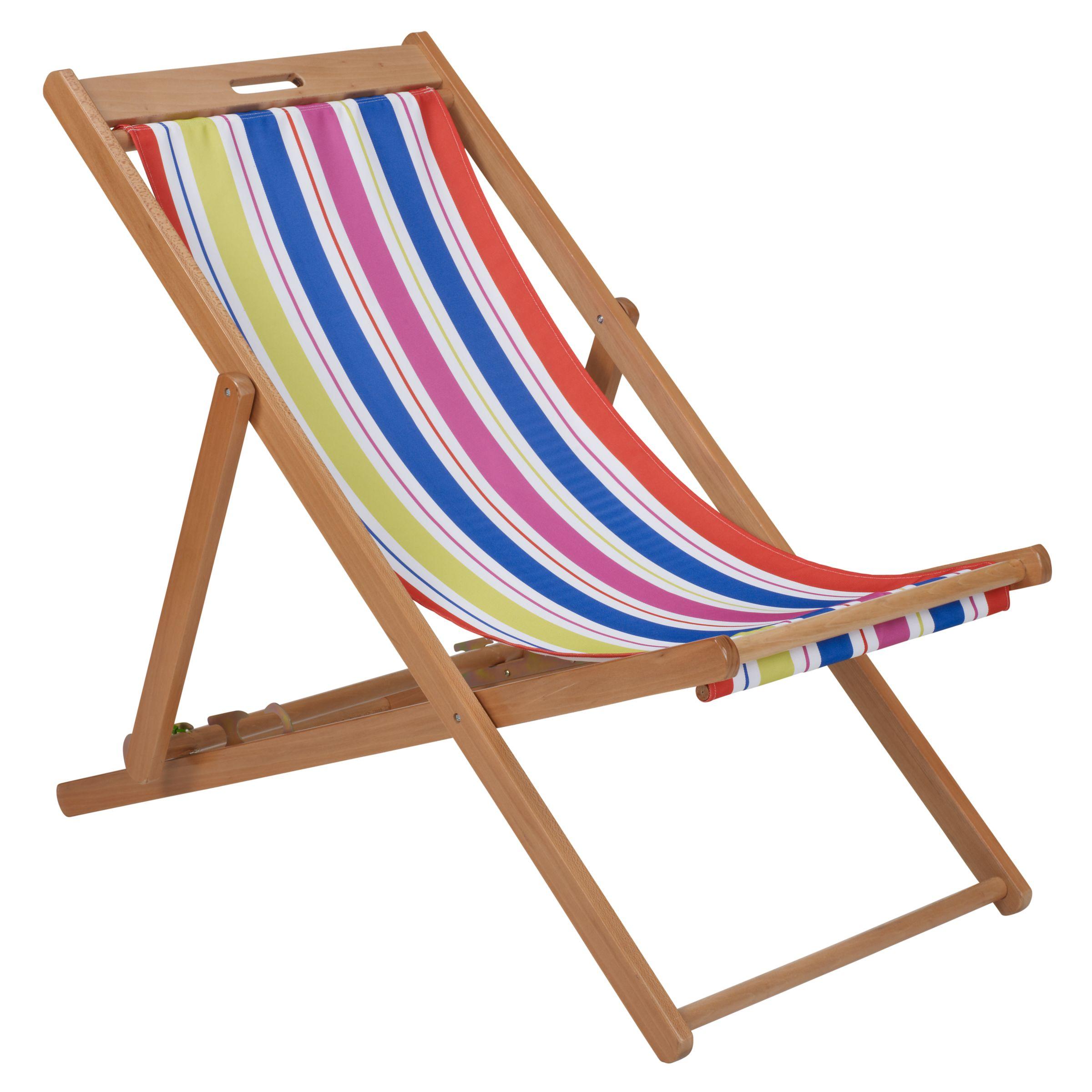 John Lewis Deckchair, Stripe
