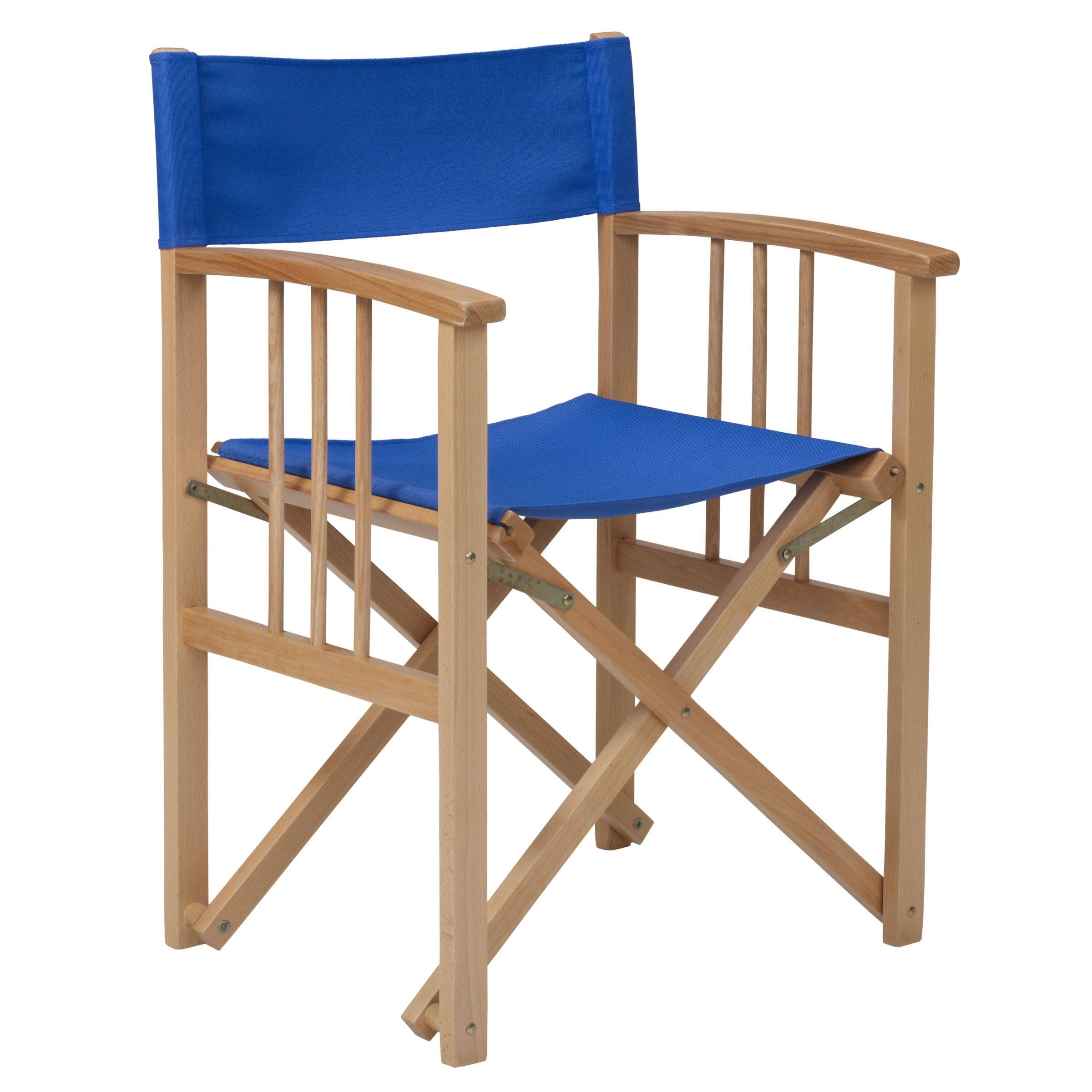 John Lewis Director's Chair, Lapis, Set of 2