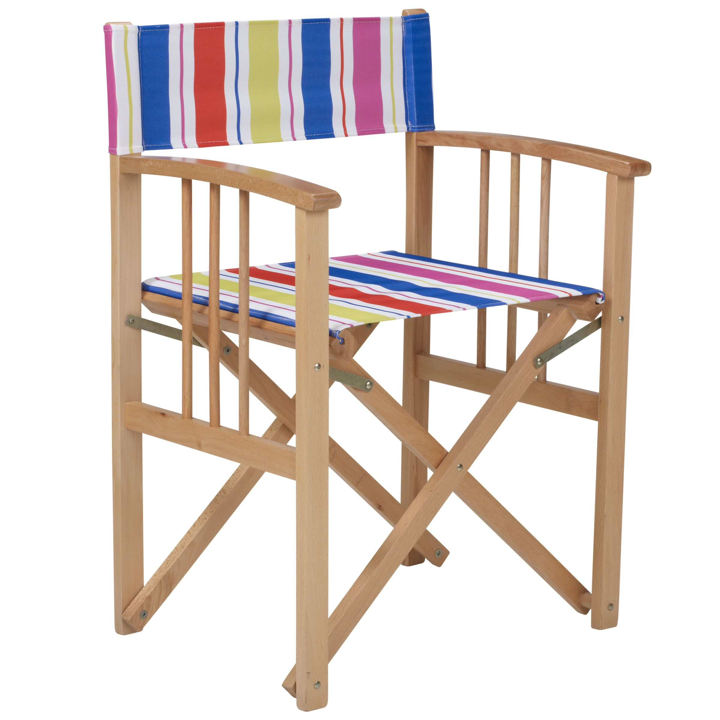 John Lewis Director's Chair, Stripe, Set of 2