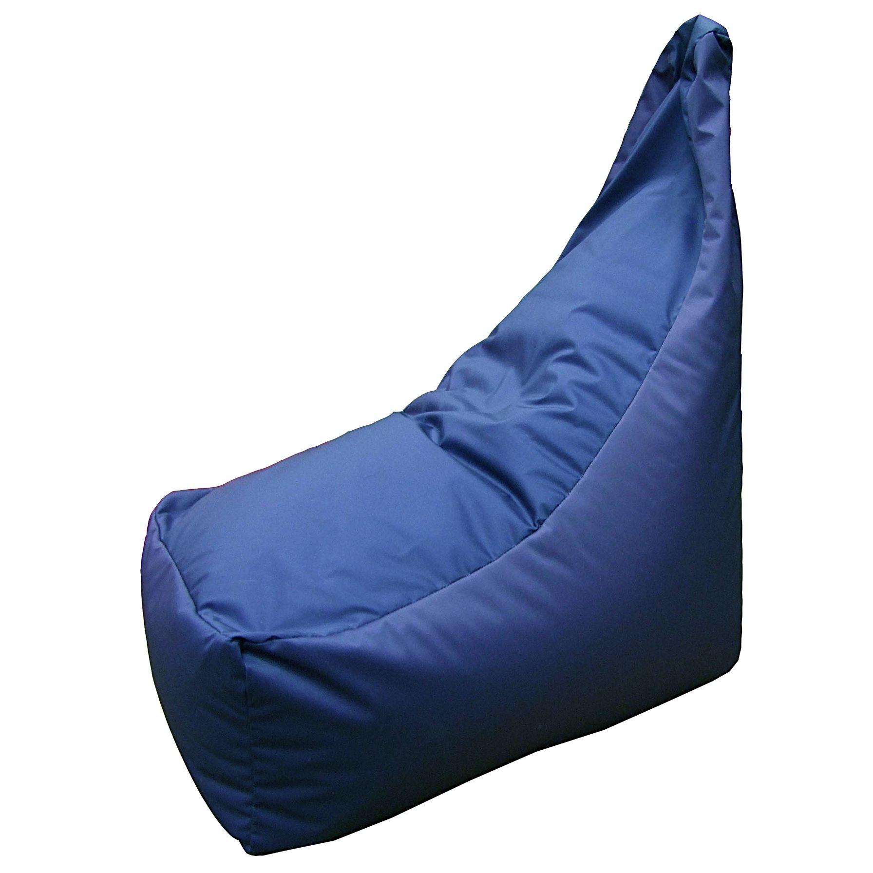 John Lewis Slouch Cushion, Lapis
