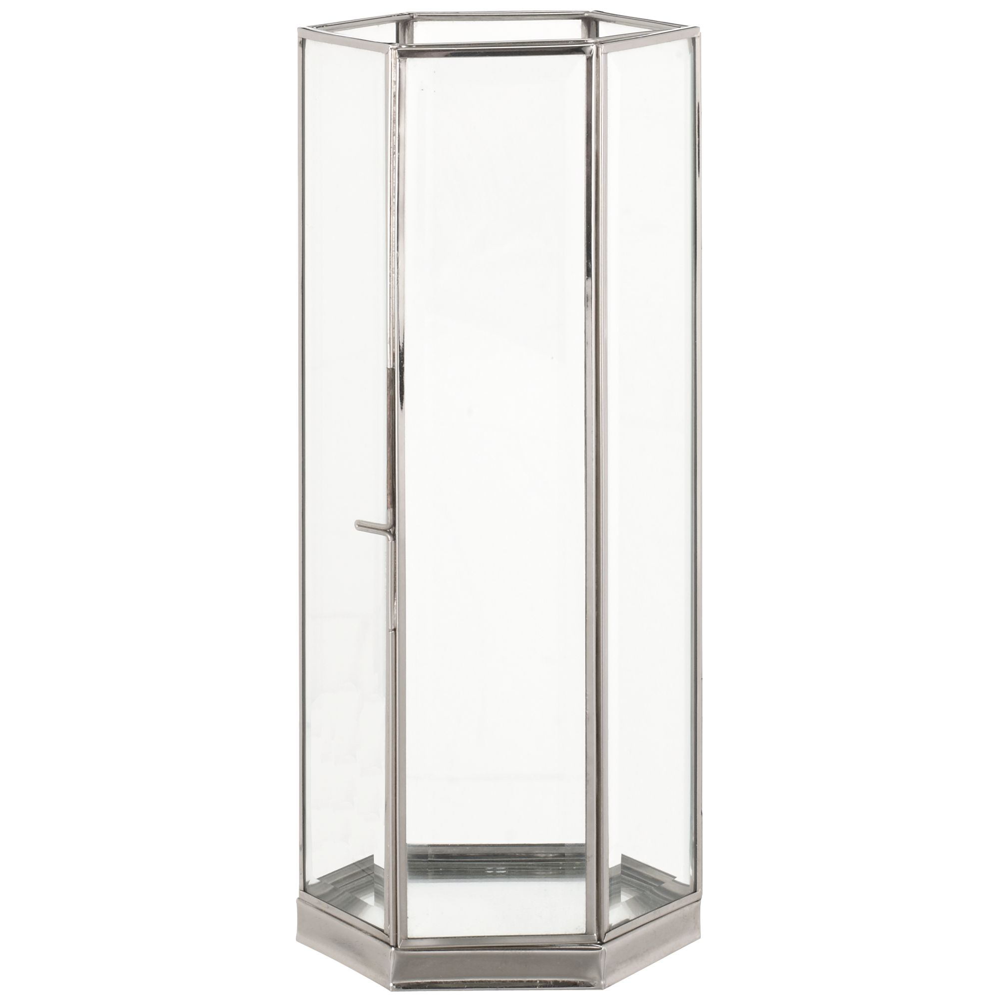 John Lewis Bevelled Glass Lantern, Medium