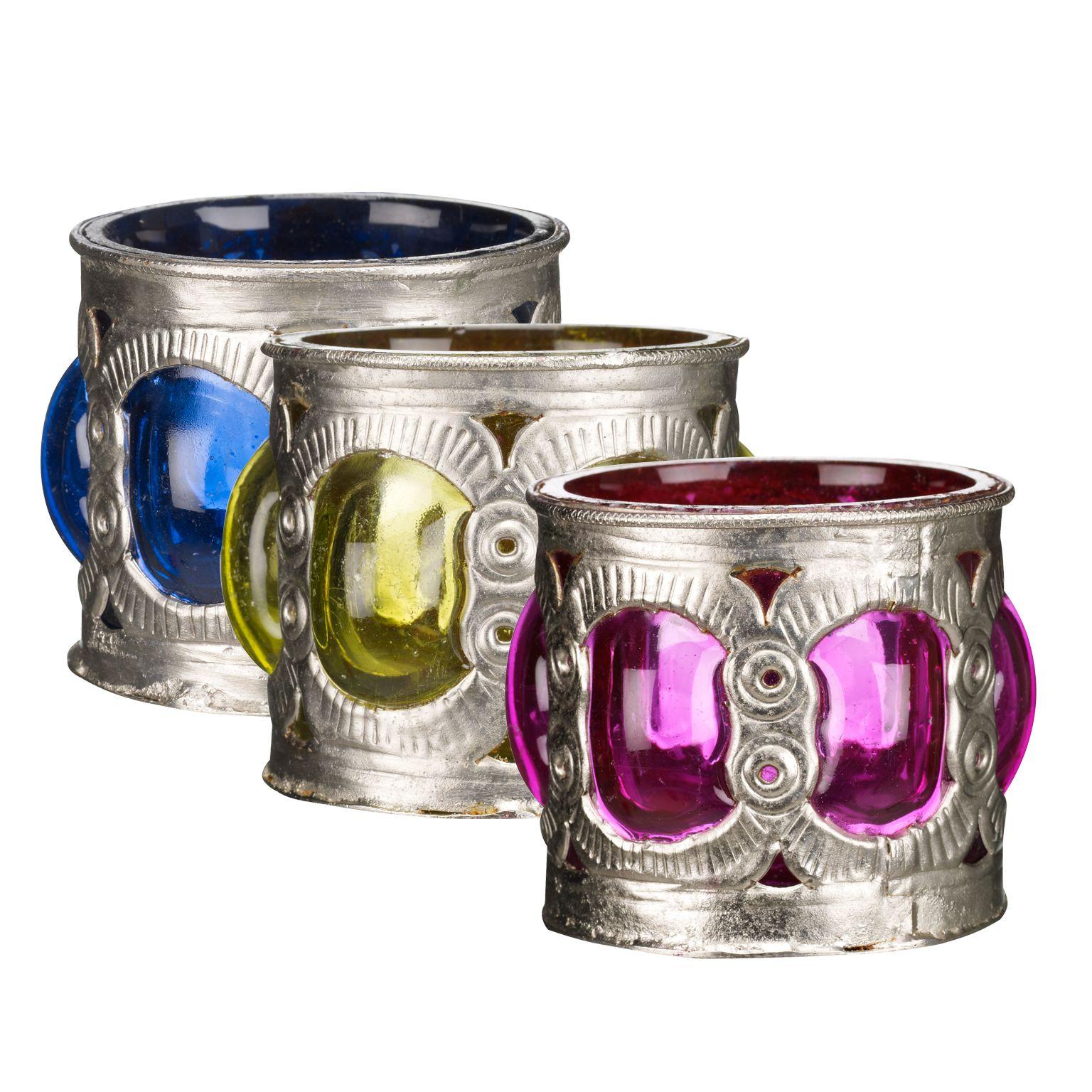 Jewels Votives, Set of 3