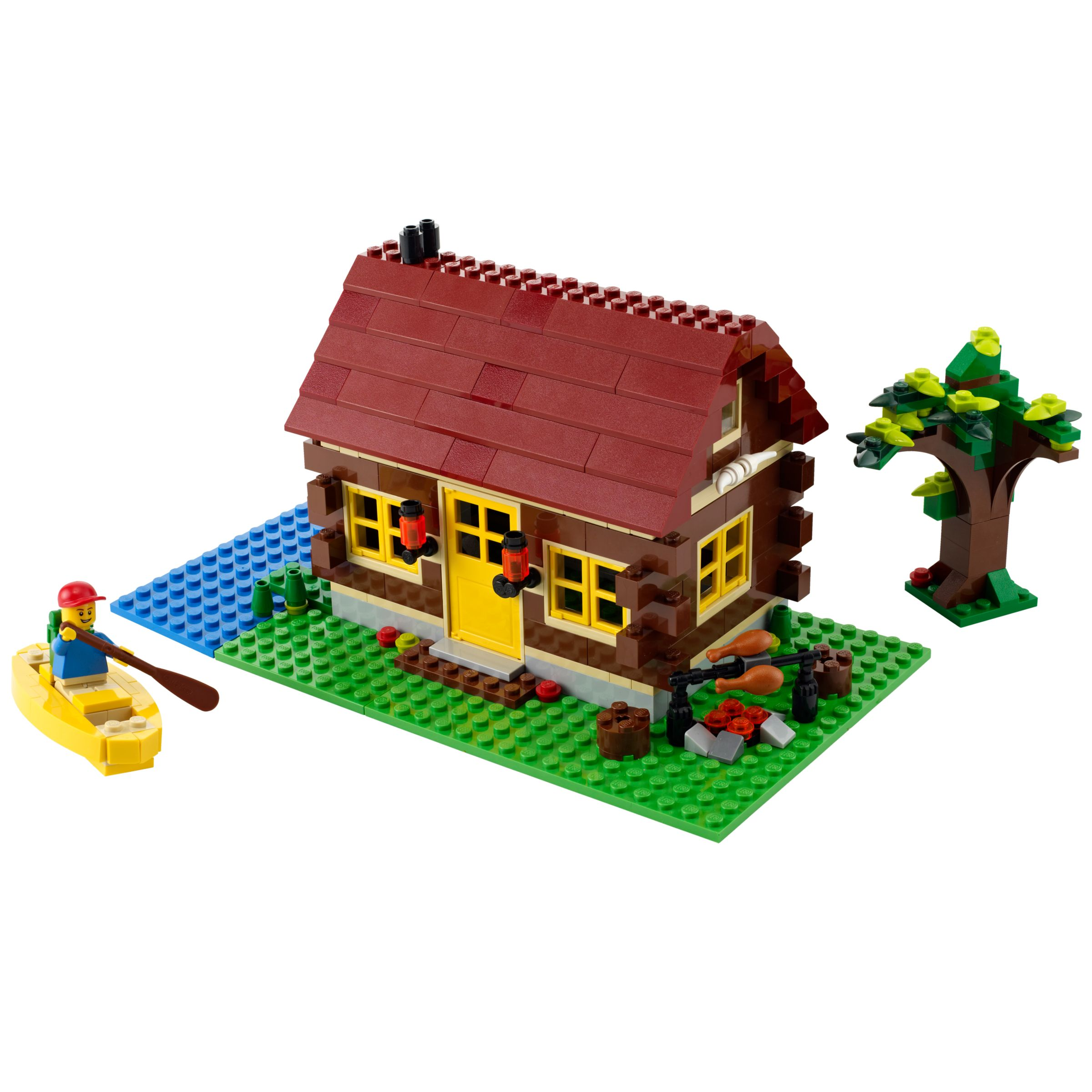 Lego Creator 3 in 1 Log Cabin Building Kit