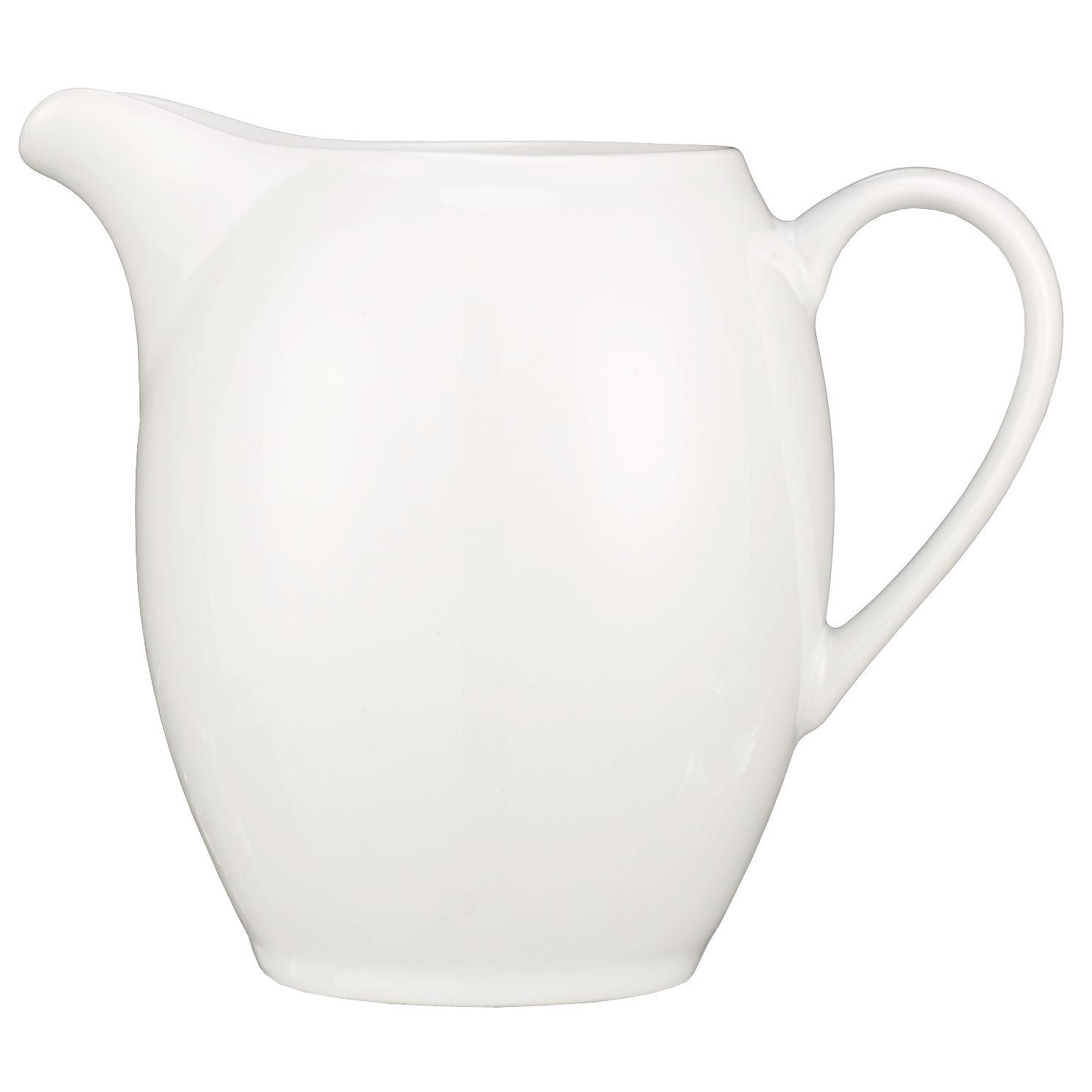 John Lewis House Porcelain Rounded Jug, 0.25L