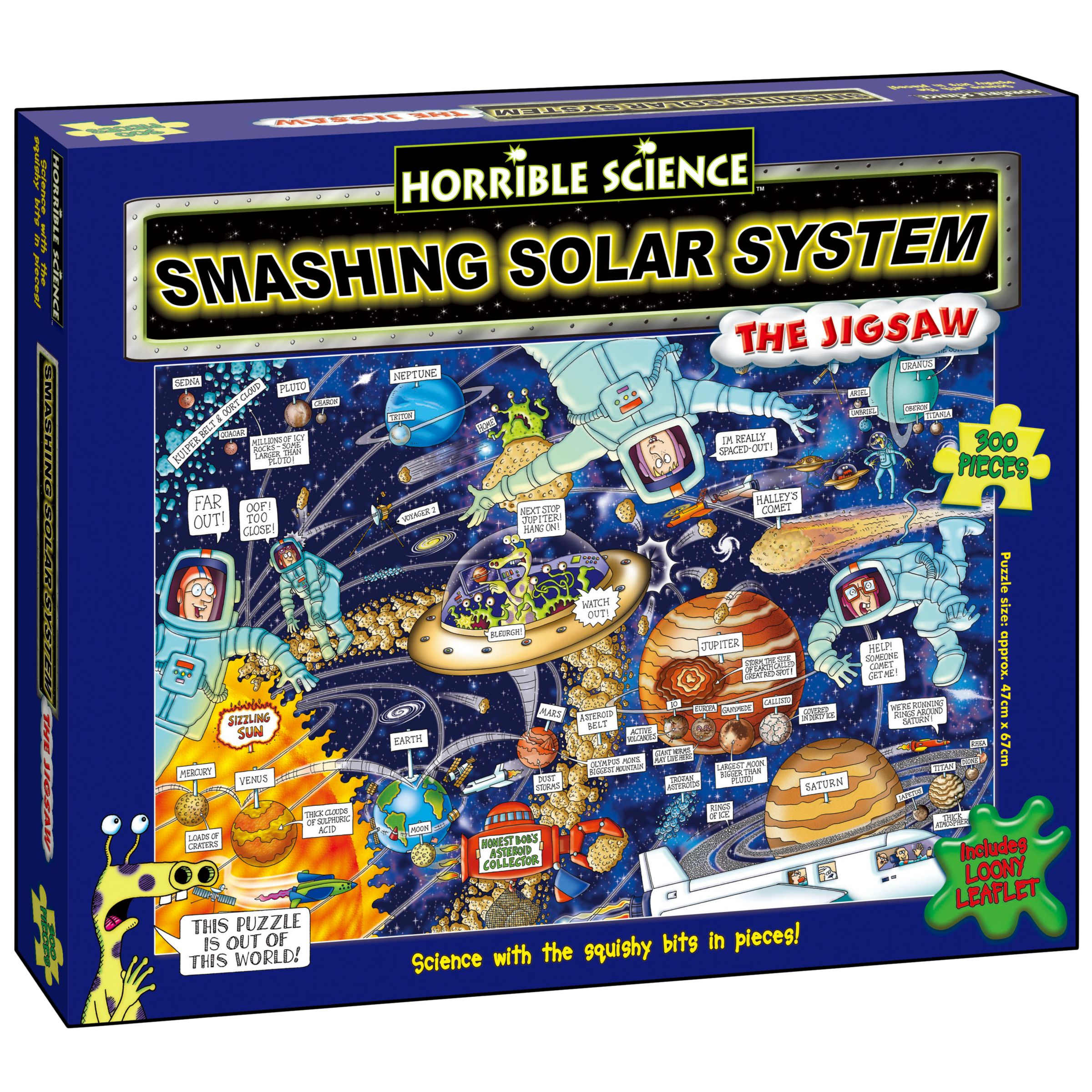 Horrible Science Smashing Solar System Jigsaw Puzzle, 300 Pieces