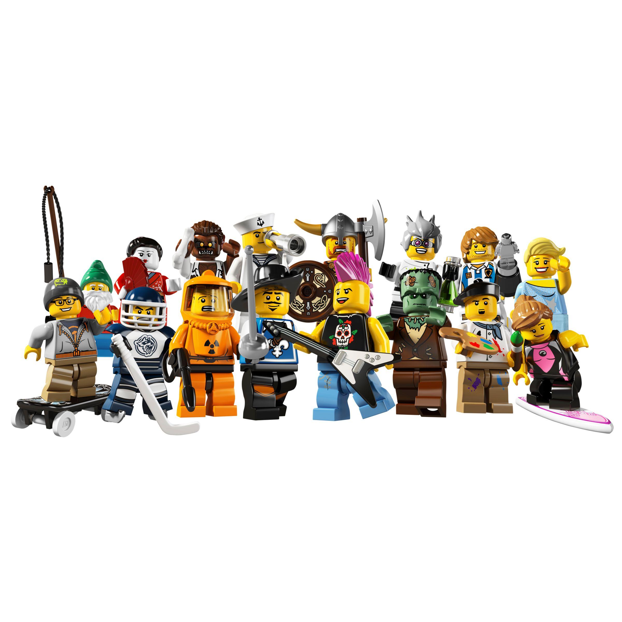 Lego Mini Figures, Series 4