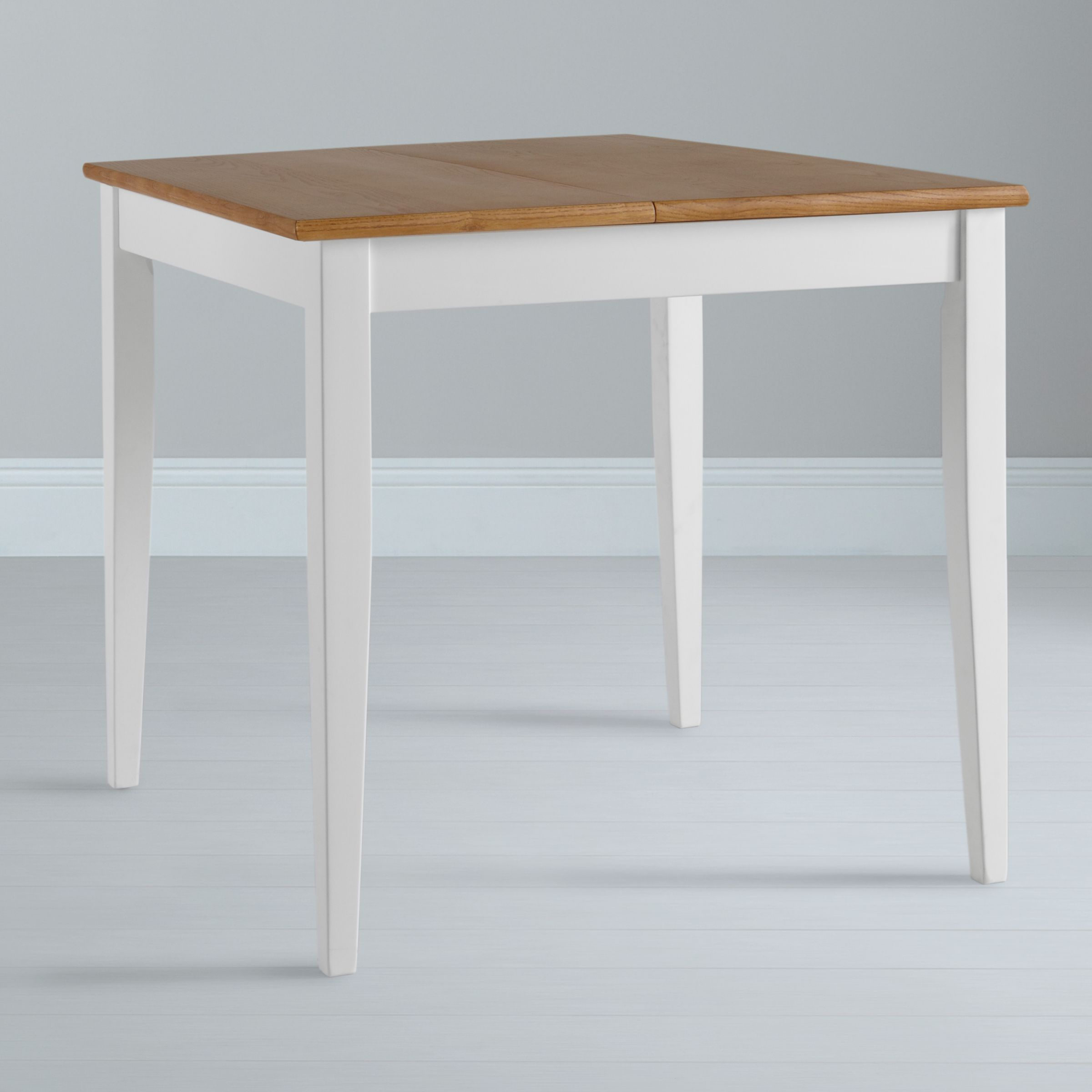 John Lewis Lacock 4 Seater Square Extending Dining Table White Oak
