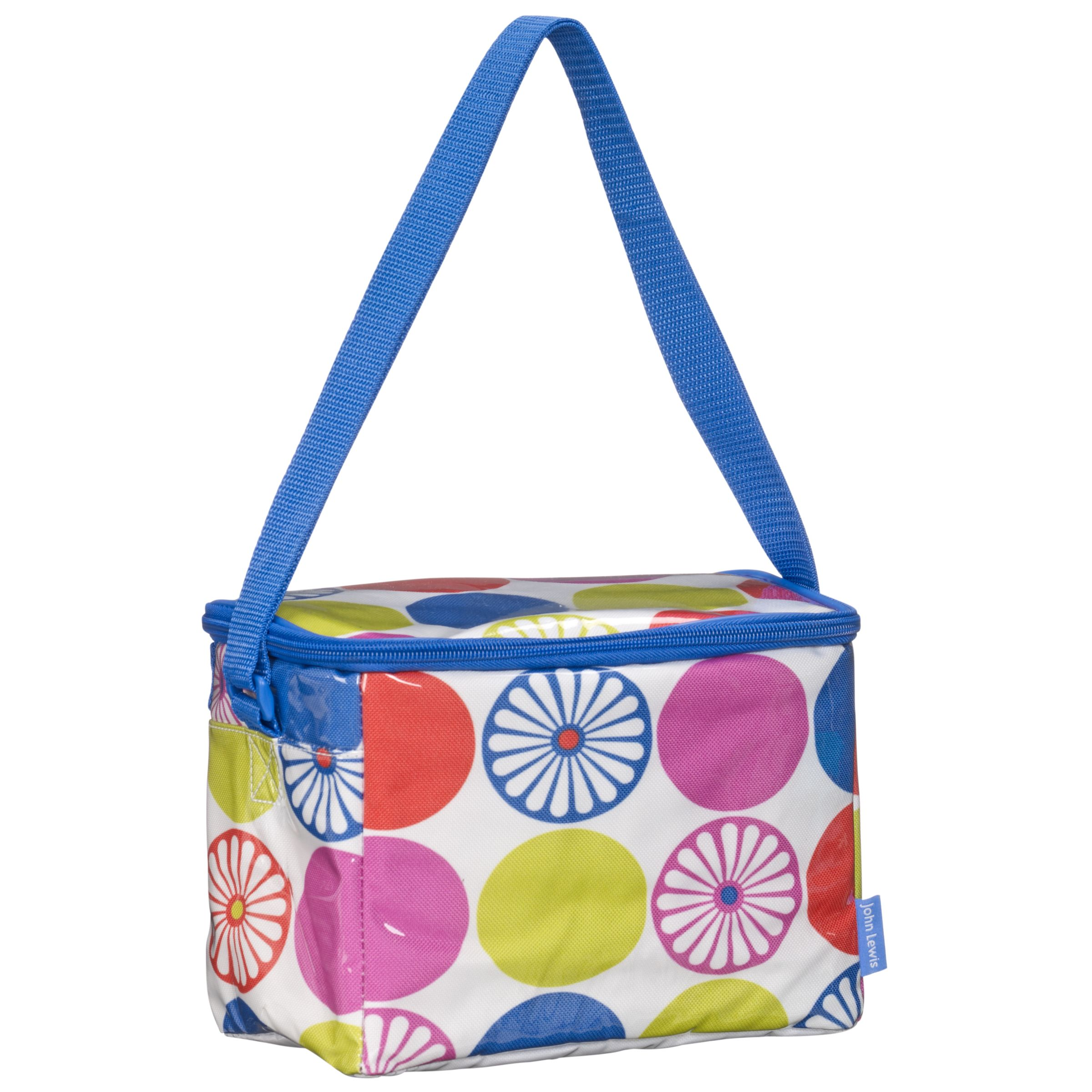 John Lewis Bright Dot Personal Lunchbag